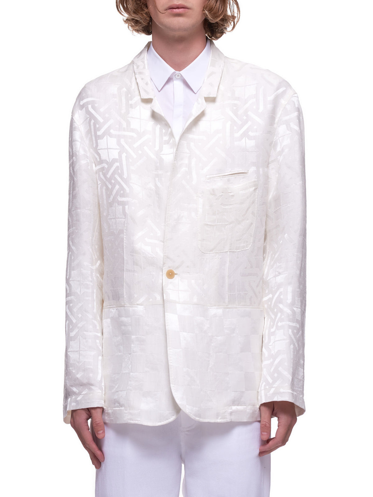 Shirt Jacket (203-3612-134-001-WHITE)