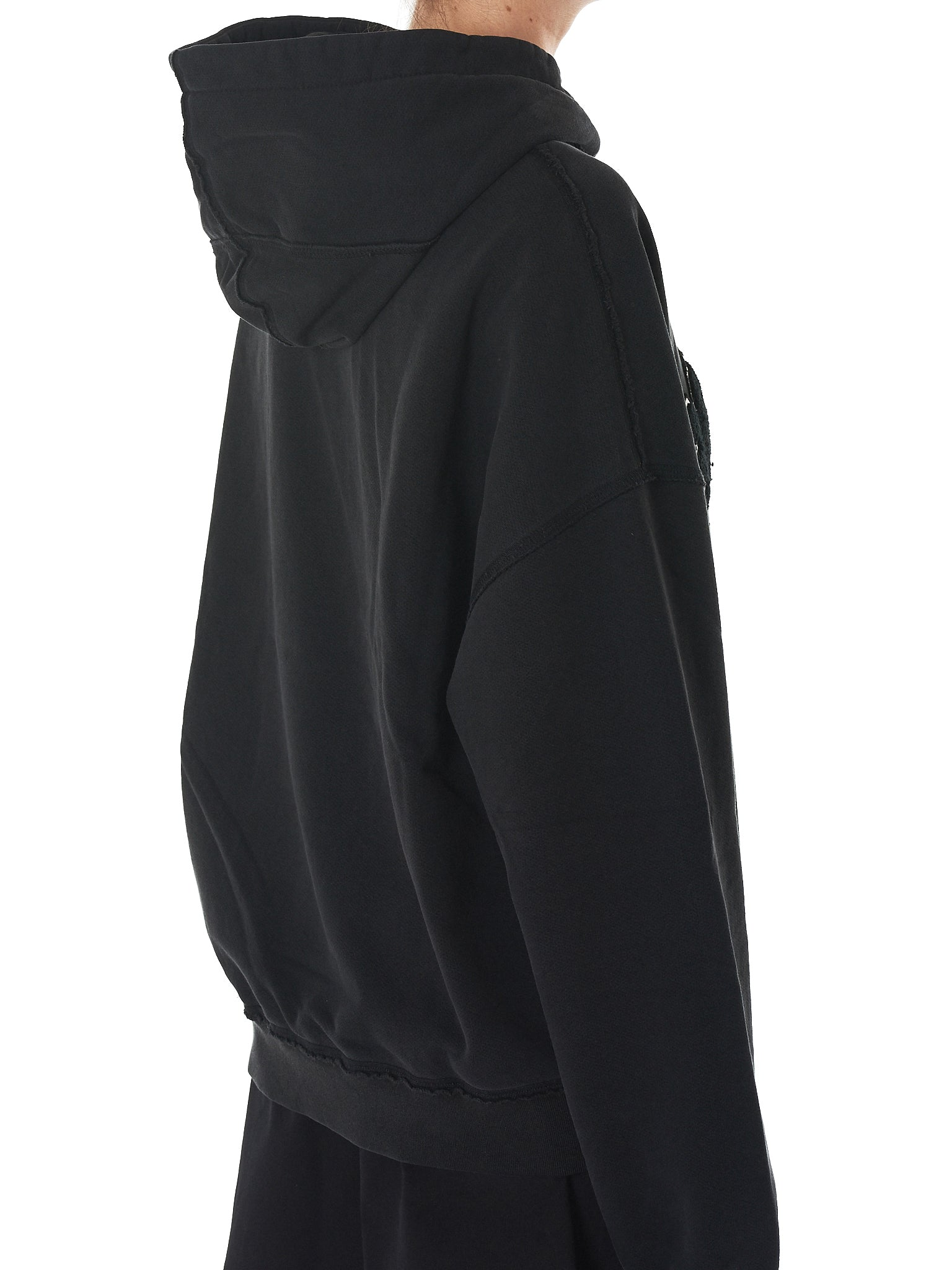'Rave Me' Hooded Pullover (203-BLACK)