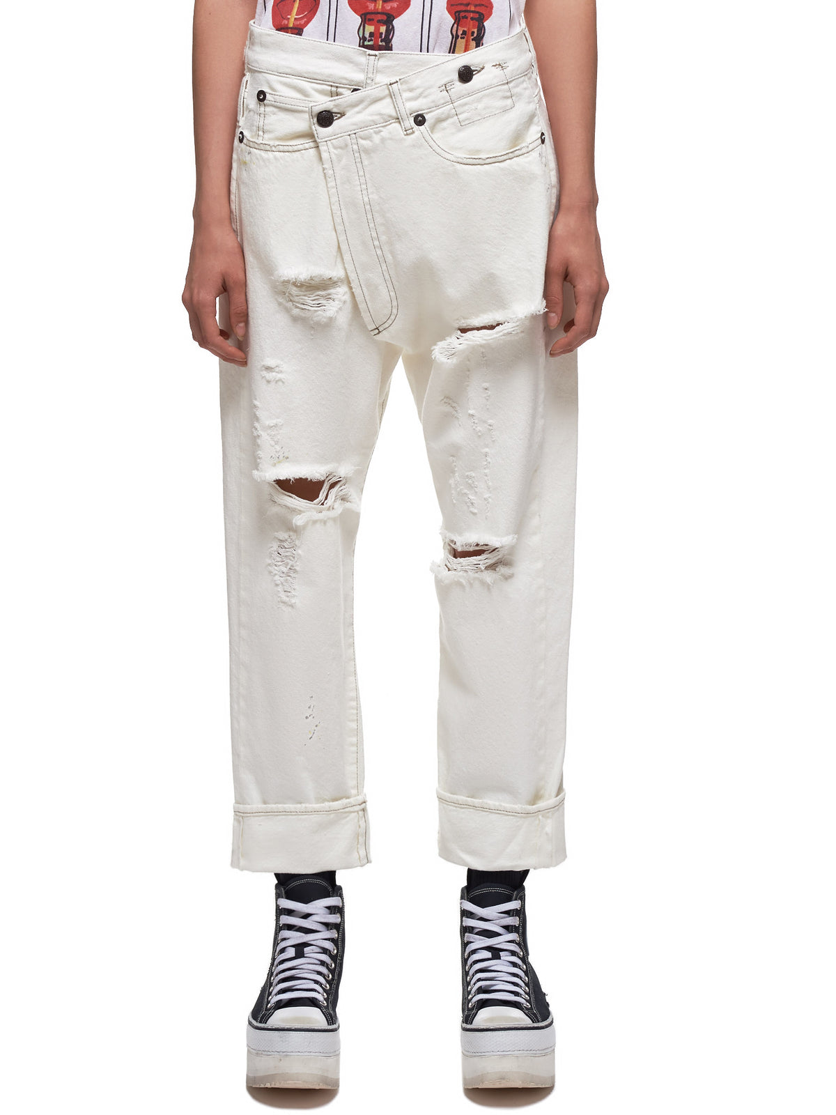 Crossover Jeans (2048-811A-WHITE)