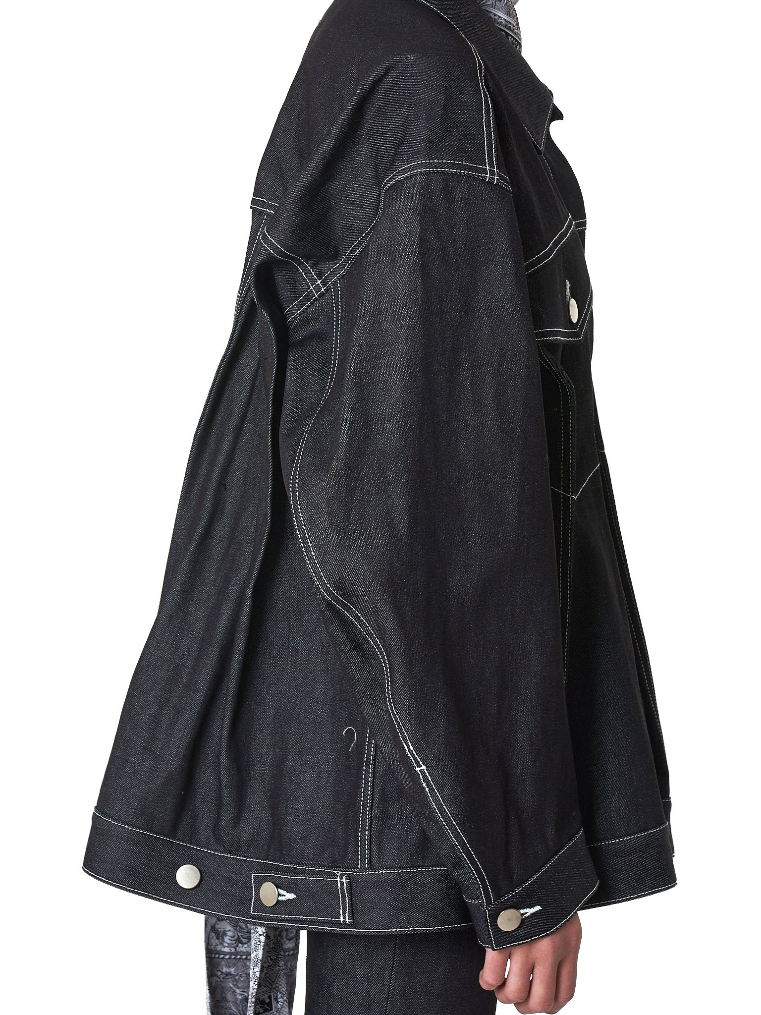 Irene Denim Jacket - Hlorenzo Detail 1