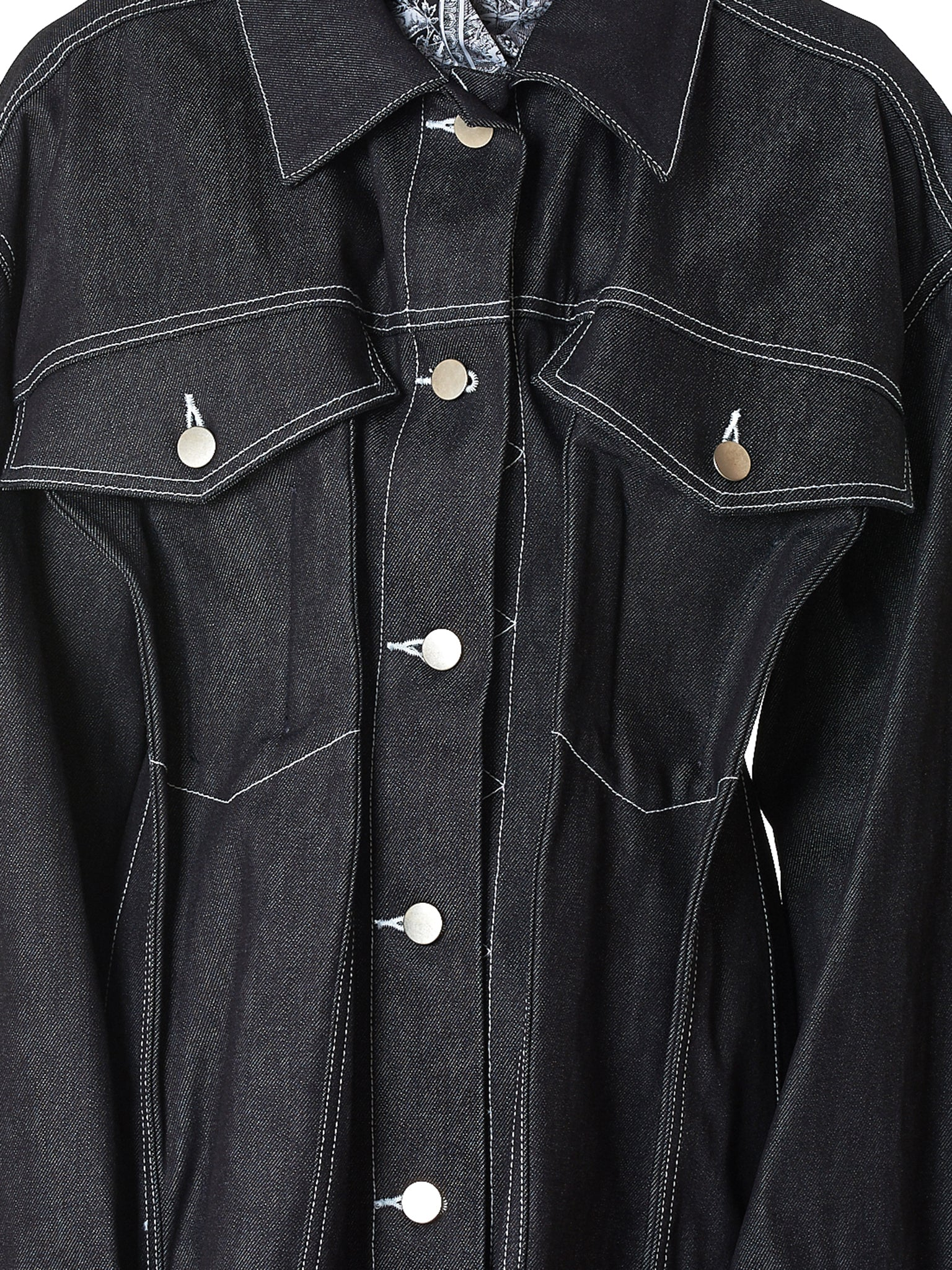 Irene Denim Jacket - Hlorenzo Detail 3