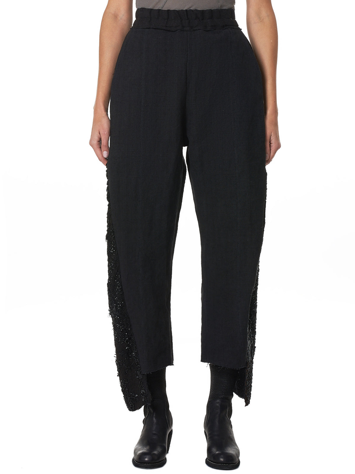 By Walid Cropped Pants - Hlorenzo Front