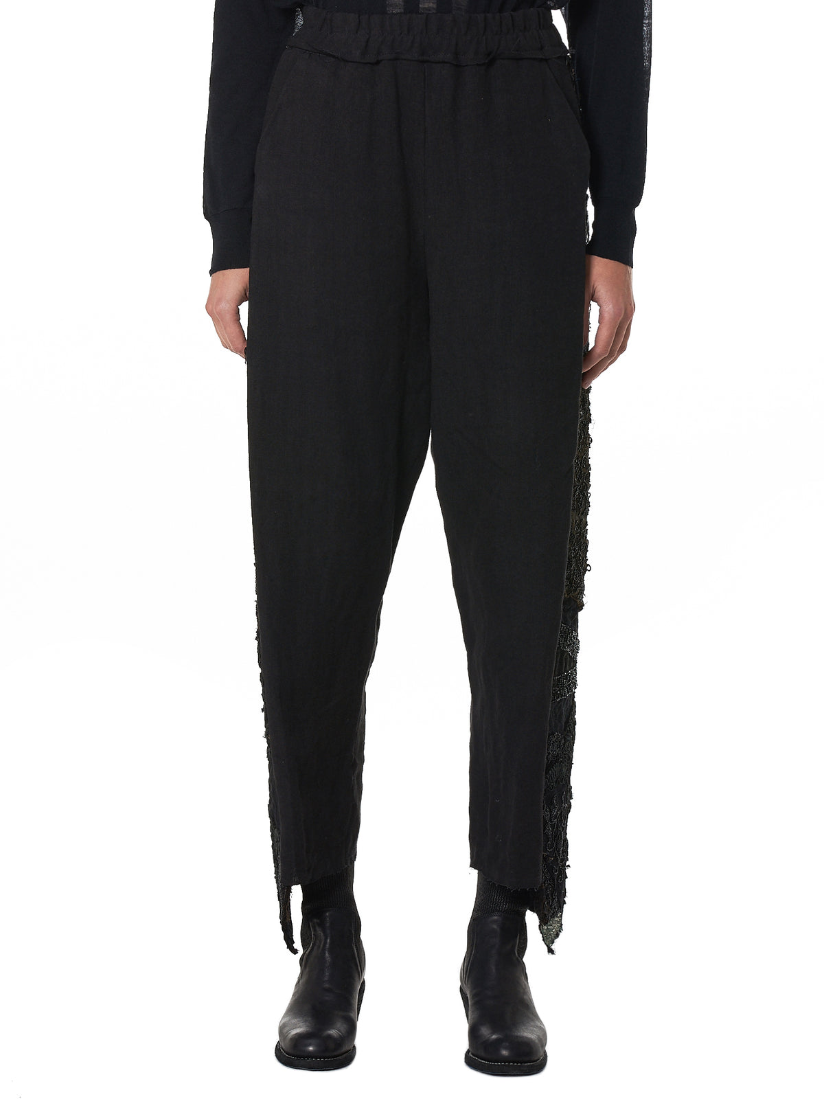 By Walid Cropped Trouser - Hlorenzo Front