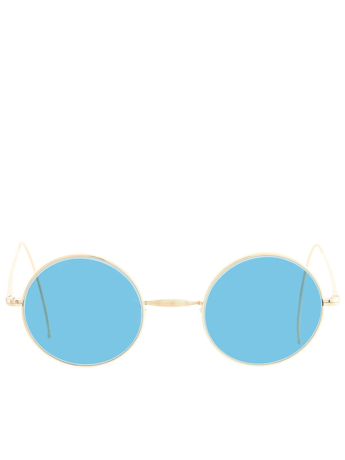 Round Cable Sunglasses (SPM-CLASSIC-RND-GP-CABLE-BLUEG)