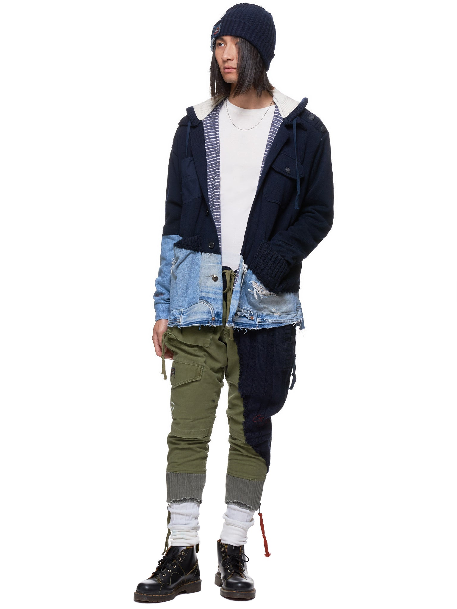 Greg Lauren x Paul & Shark Jacket - Hlorenzo Style