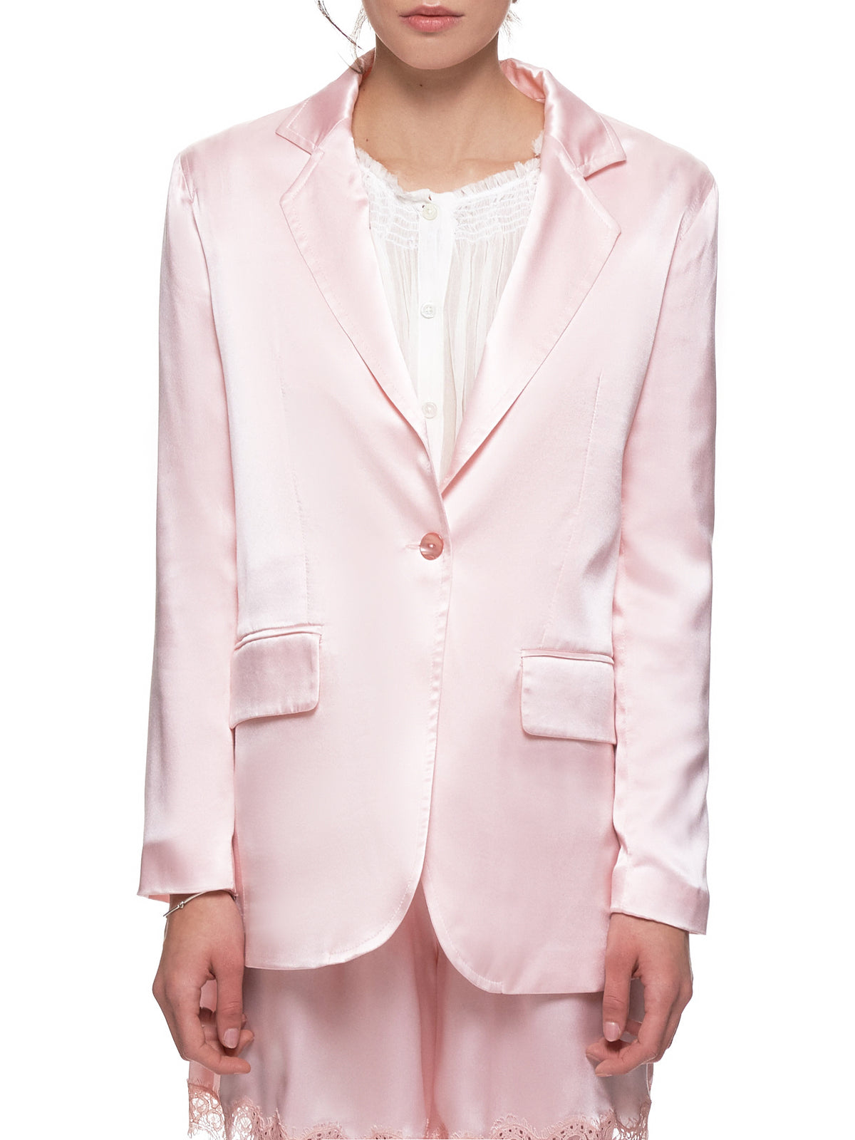 'Second Skin Blazer' (24-SECOND-SKIN-PINK)