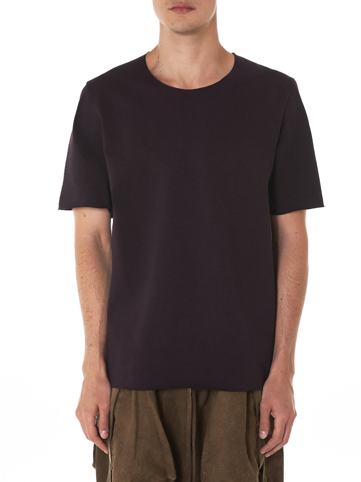 Scar-Stitched Tee (242-PURPLE)