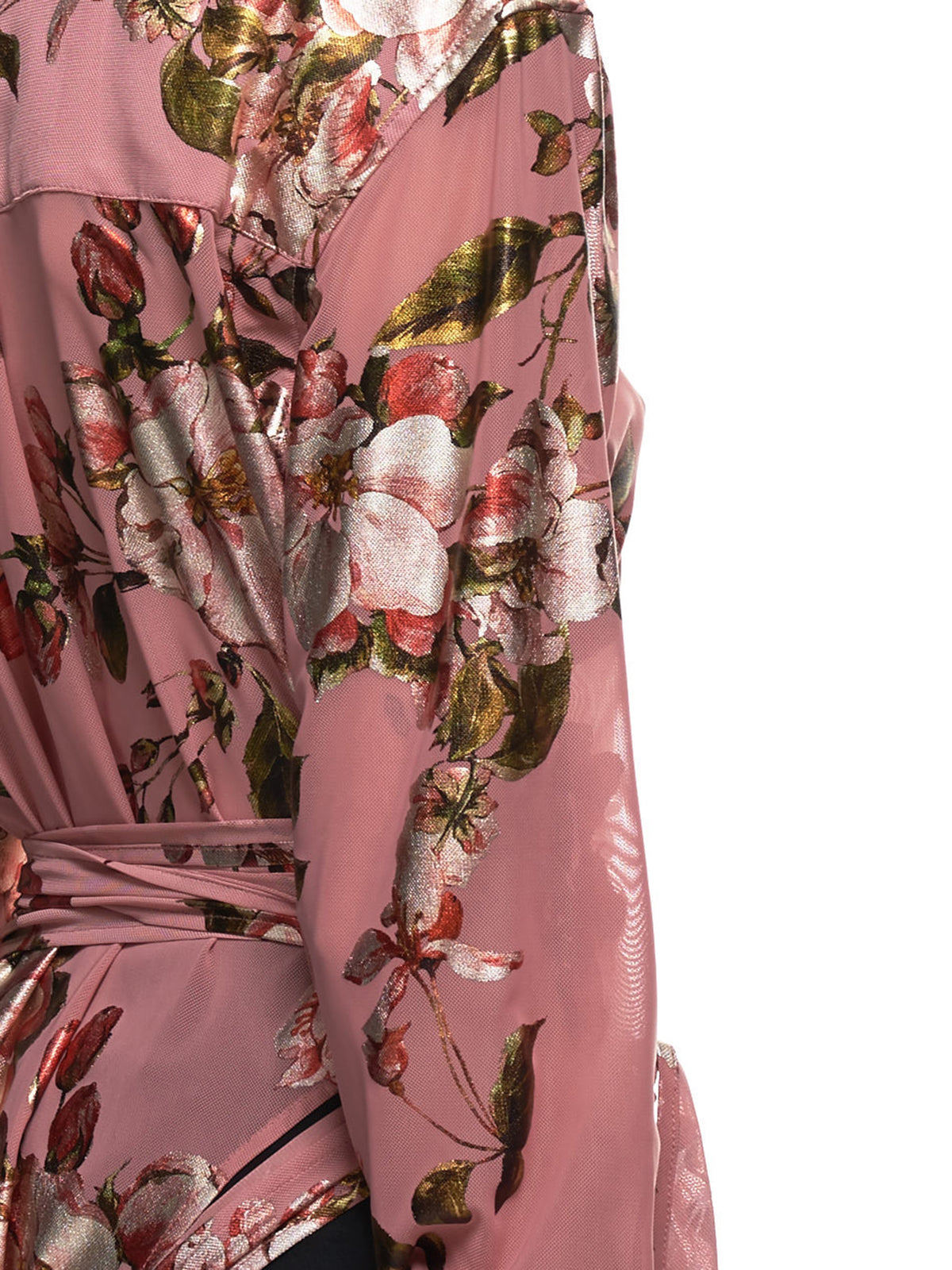 Body Blouse (WTOP23-PINK-FLORAL)
