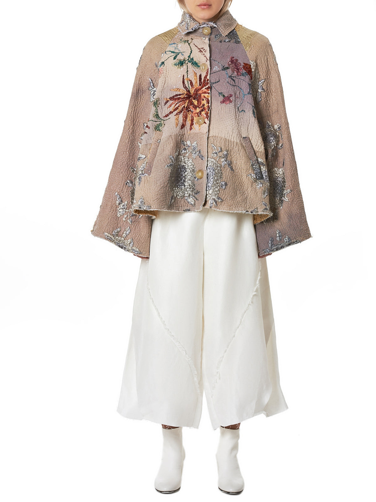 By Walid Embroidered Jacket - Hlorenzo Front