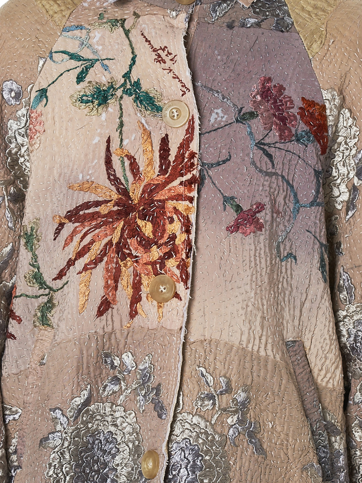 By Walid Embroidered Jacket - Hlorenzo Detail 2