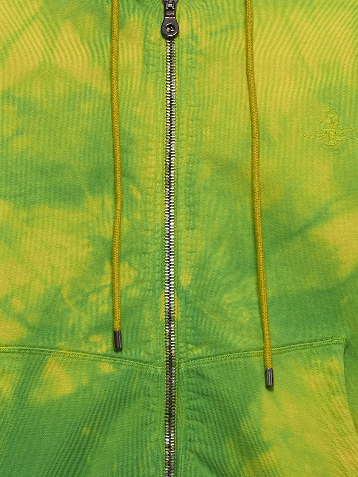 Rugged Zip Hoodie (26020023-21693-GREEN-LIME)