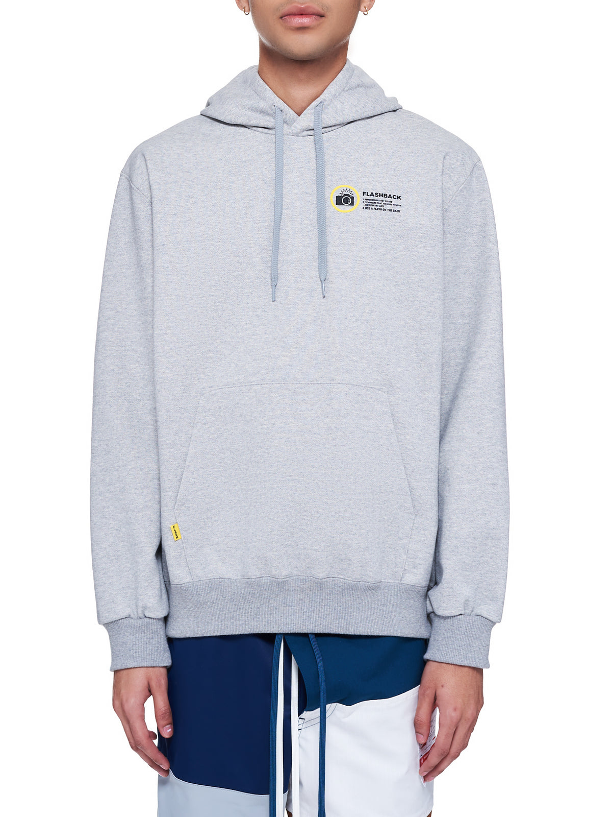 Memorial Polaroid Hoodie (26CS172-TOP-GRAY)