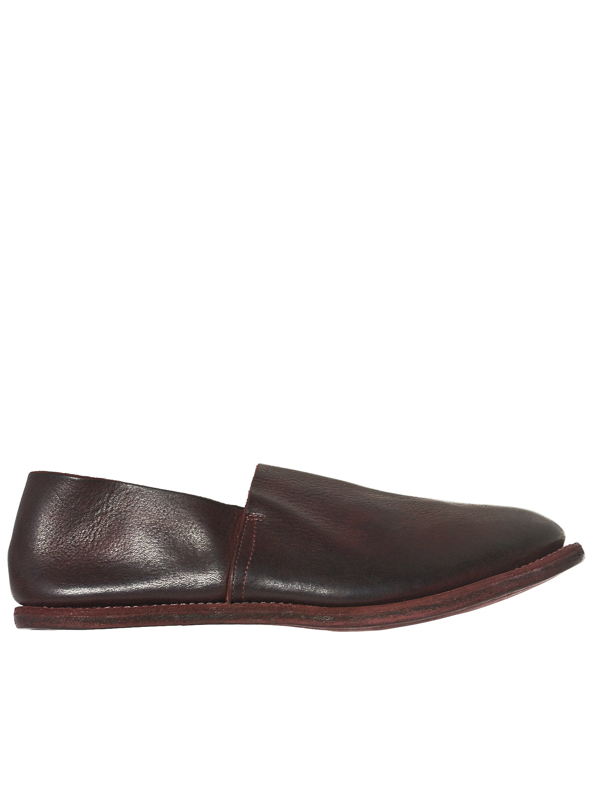 Guidi Calfskin Loafers - Hlorenzo front