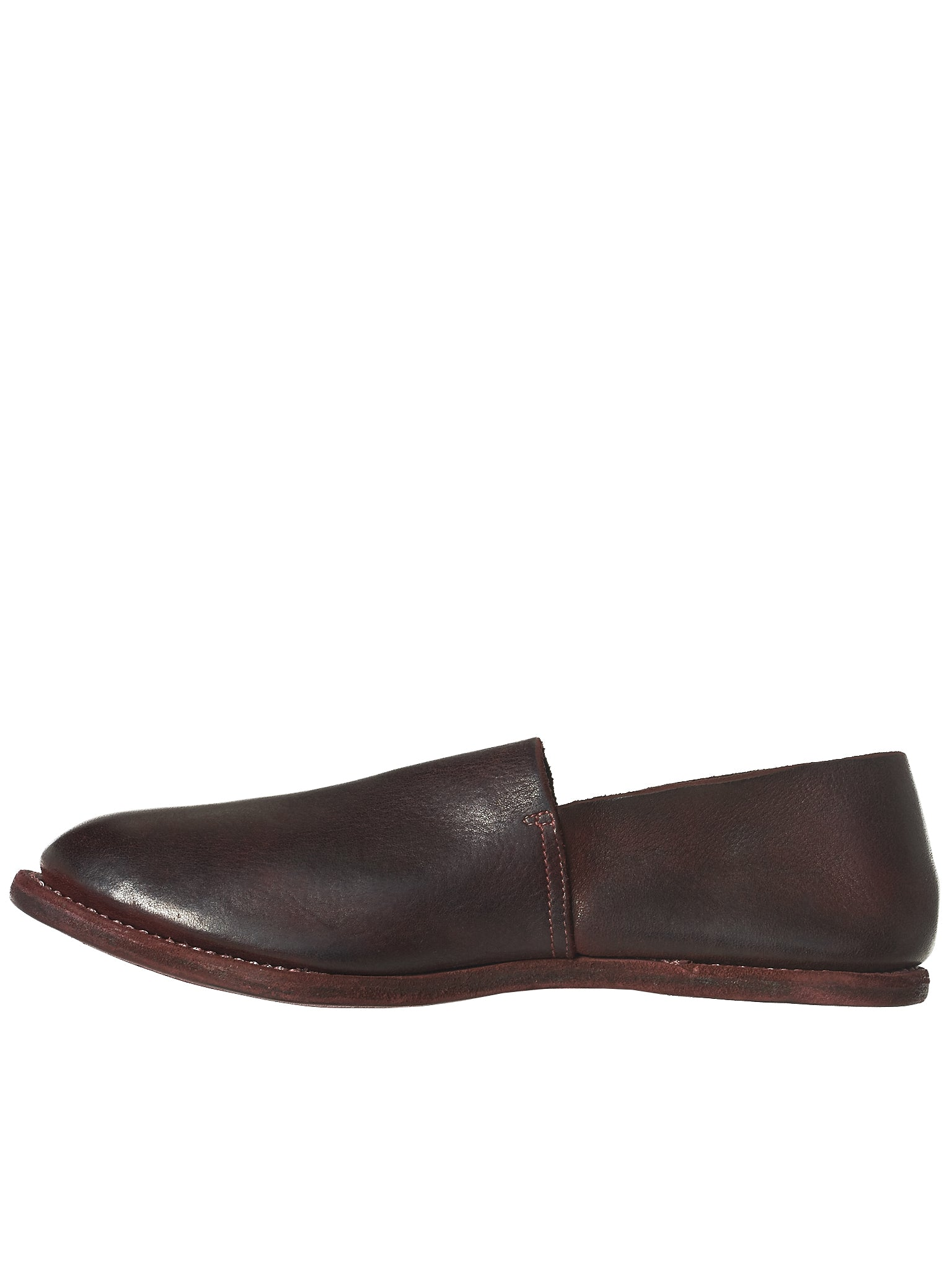 Guidi Calfskin Loafers - Hlorenzo Back