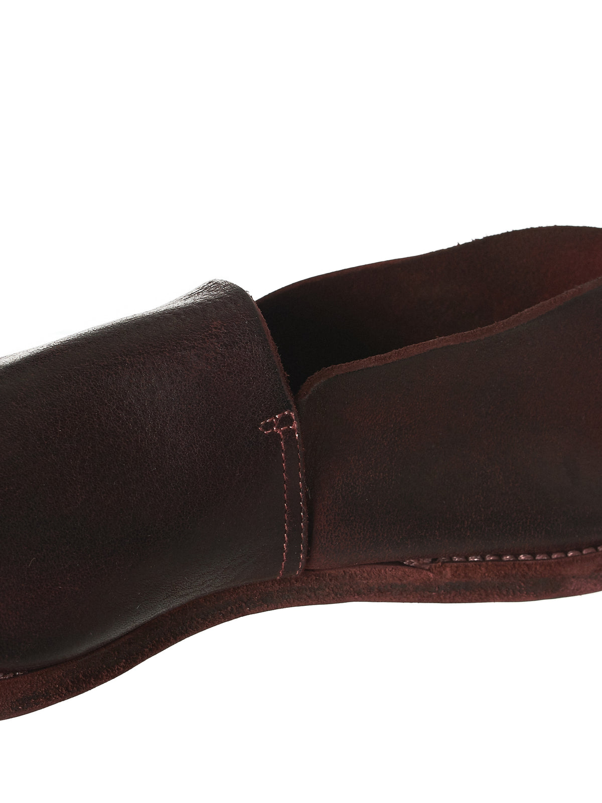 Guidi Calfskin Loafers - Hlorenzo Detail 2