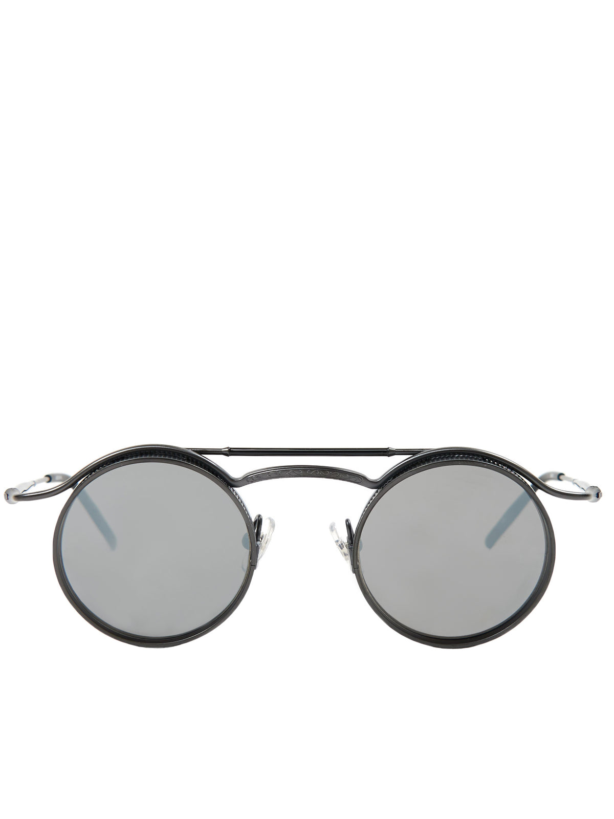 2903H Matte Black Sunglasses (2903H-MATTE-BLACK-SILVER-MIRRO)