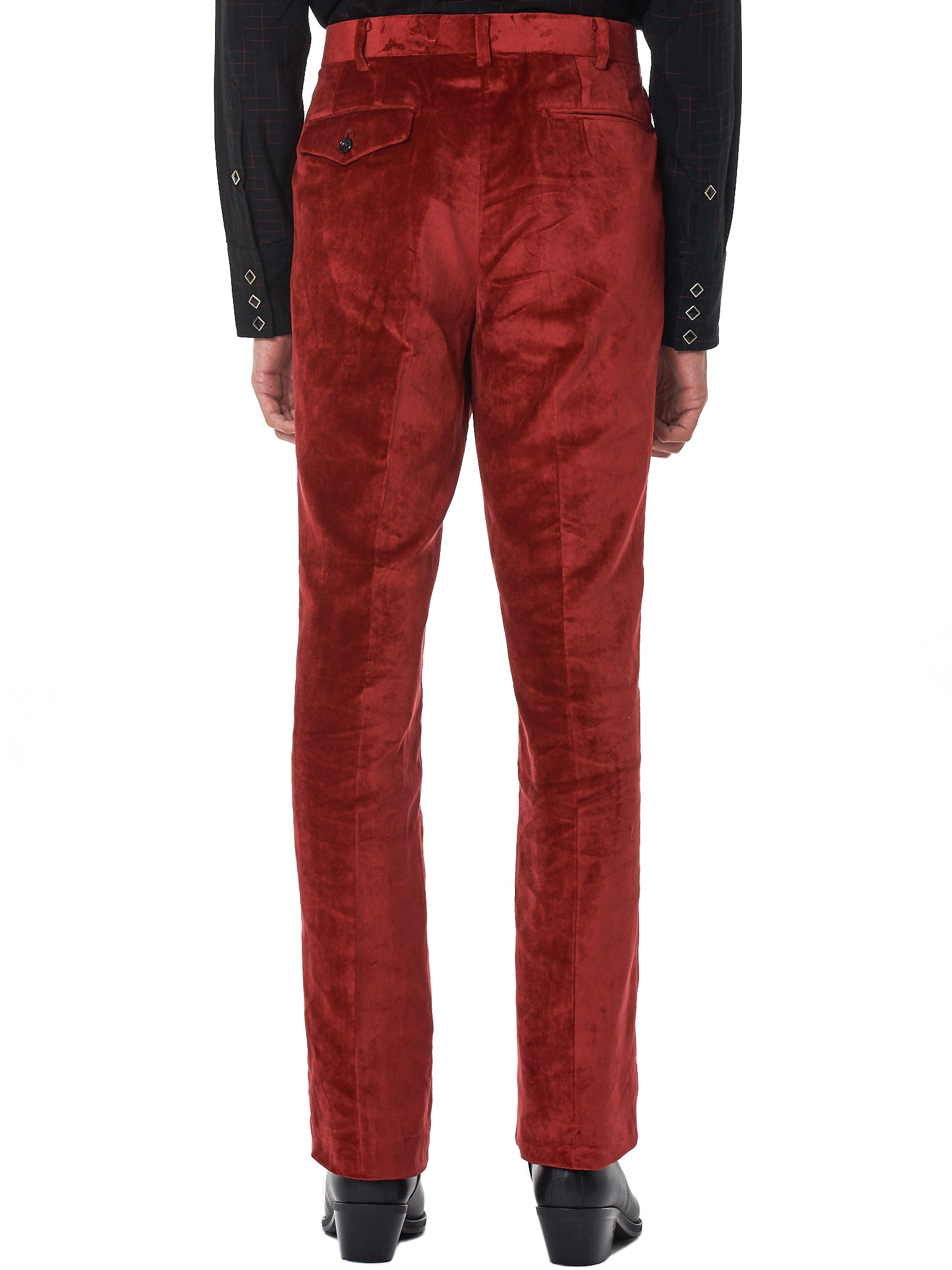 John Lawrence Sullivan Trousers - Hlorenzo Back