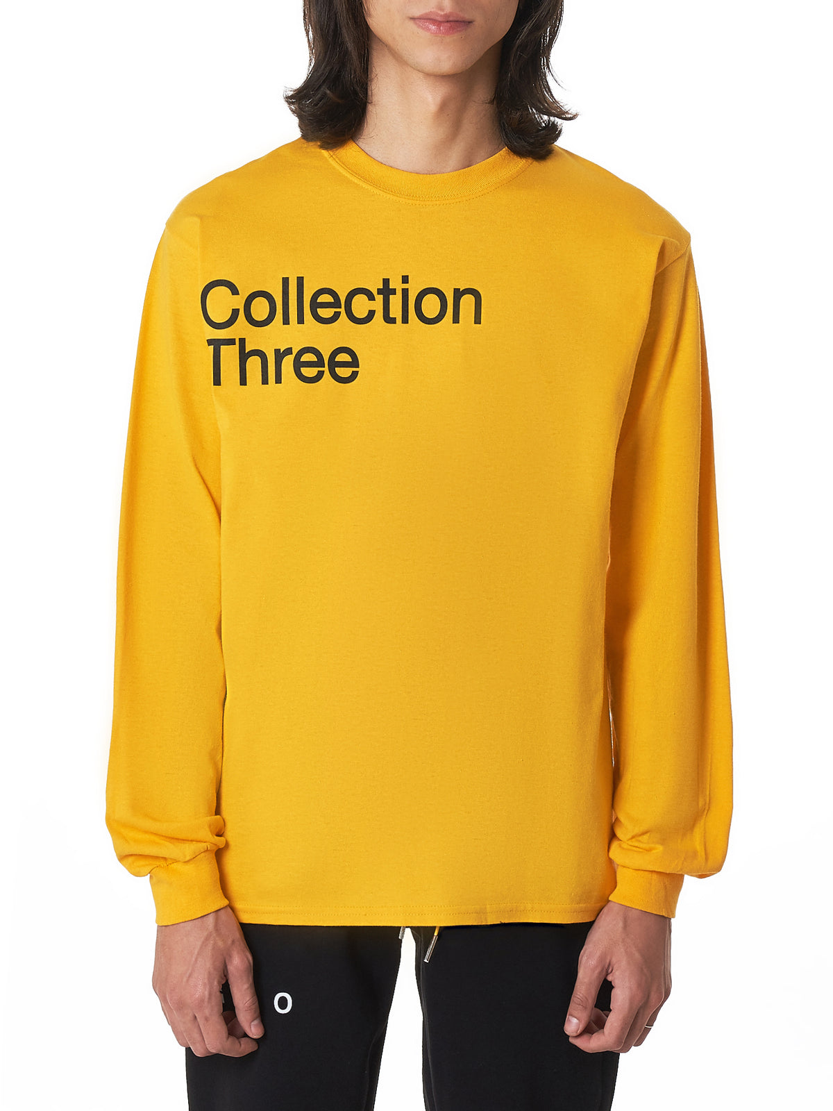 Geo 'Collection Three' Long-Sleeve Tee Shirt - Hlorenzo Front
