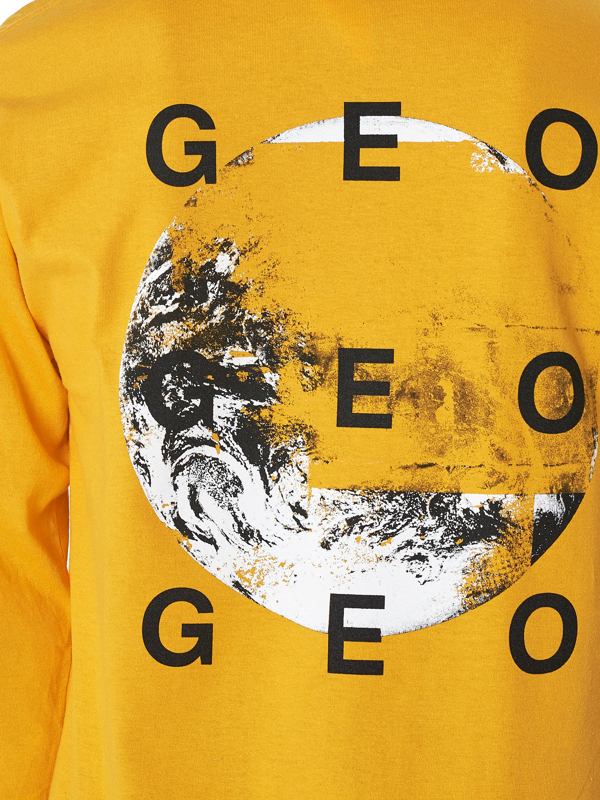 Geo 'Collection Three' Long-Sleeve Tee Shirt - Hlorenzo Detail 2