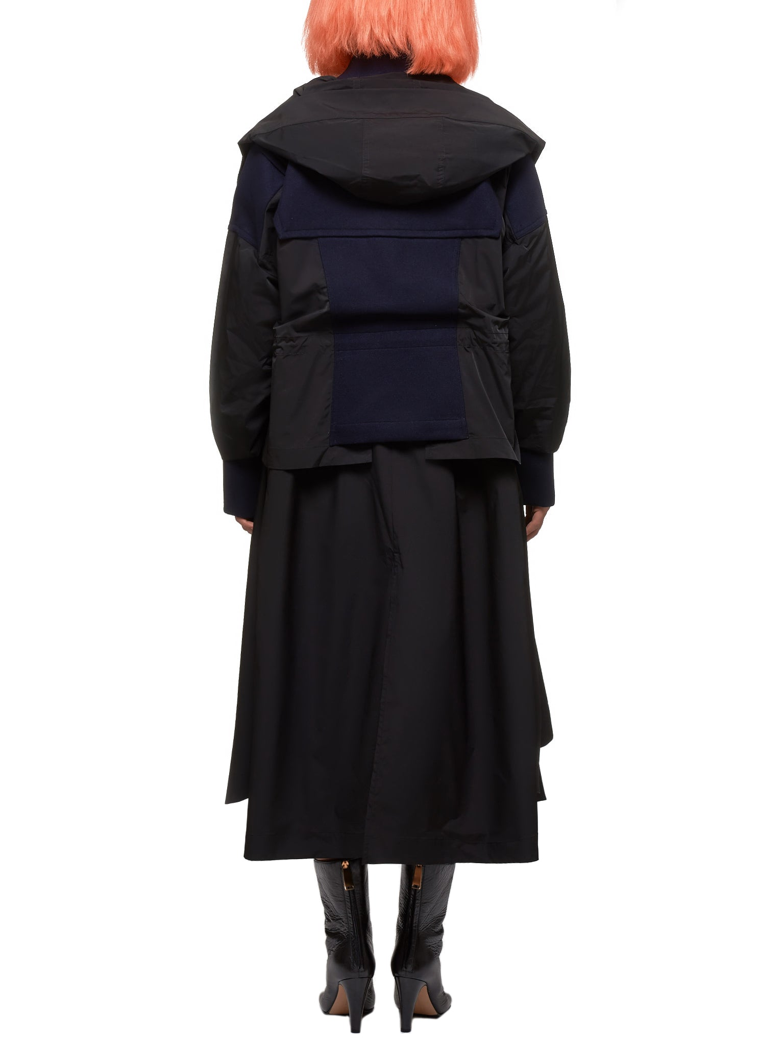 Enfold Coat - Hlorenzo Back