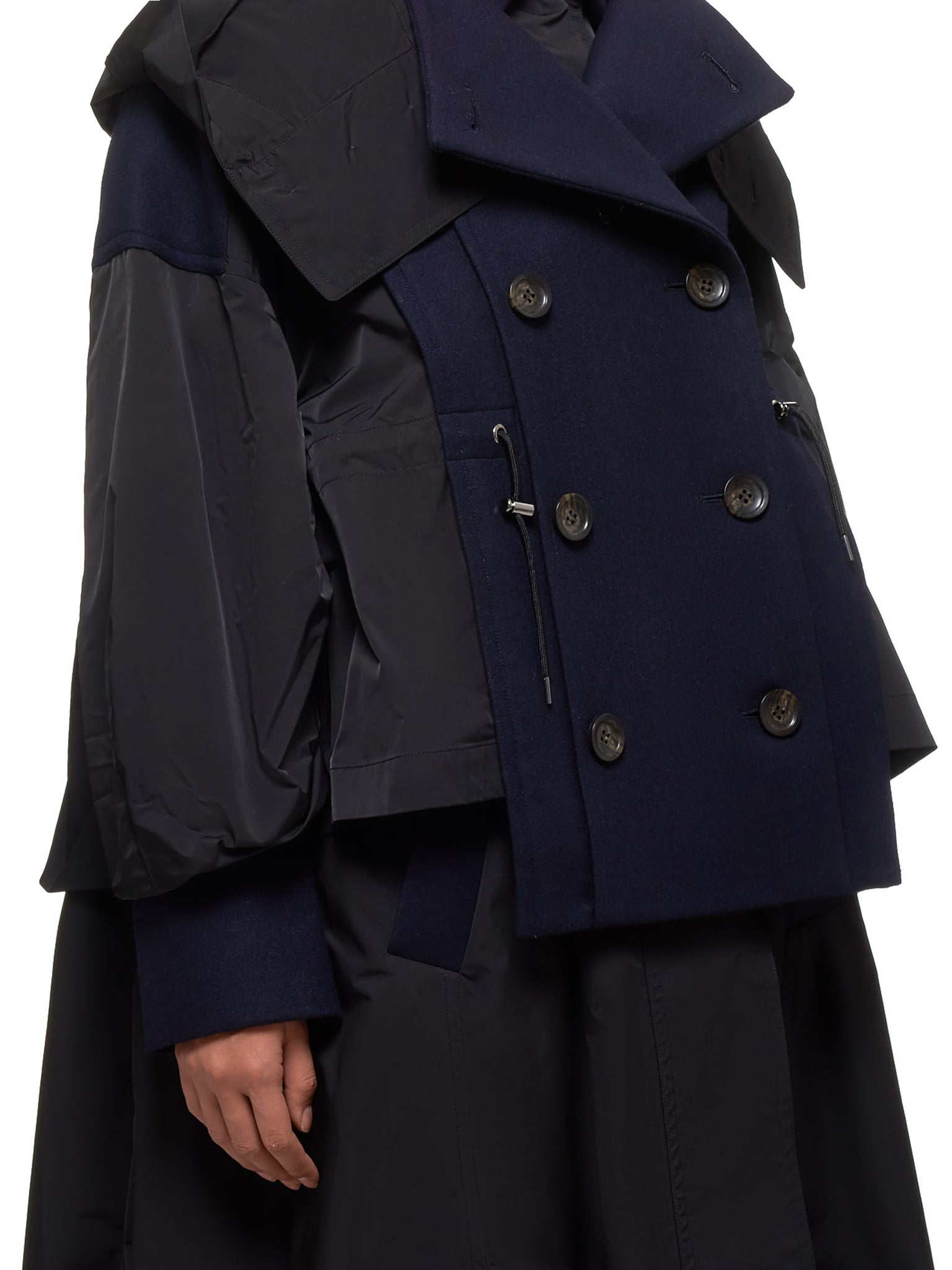 Enfold Coat - Hlorenzo Detail 2