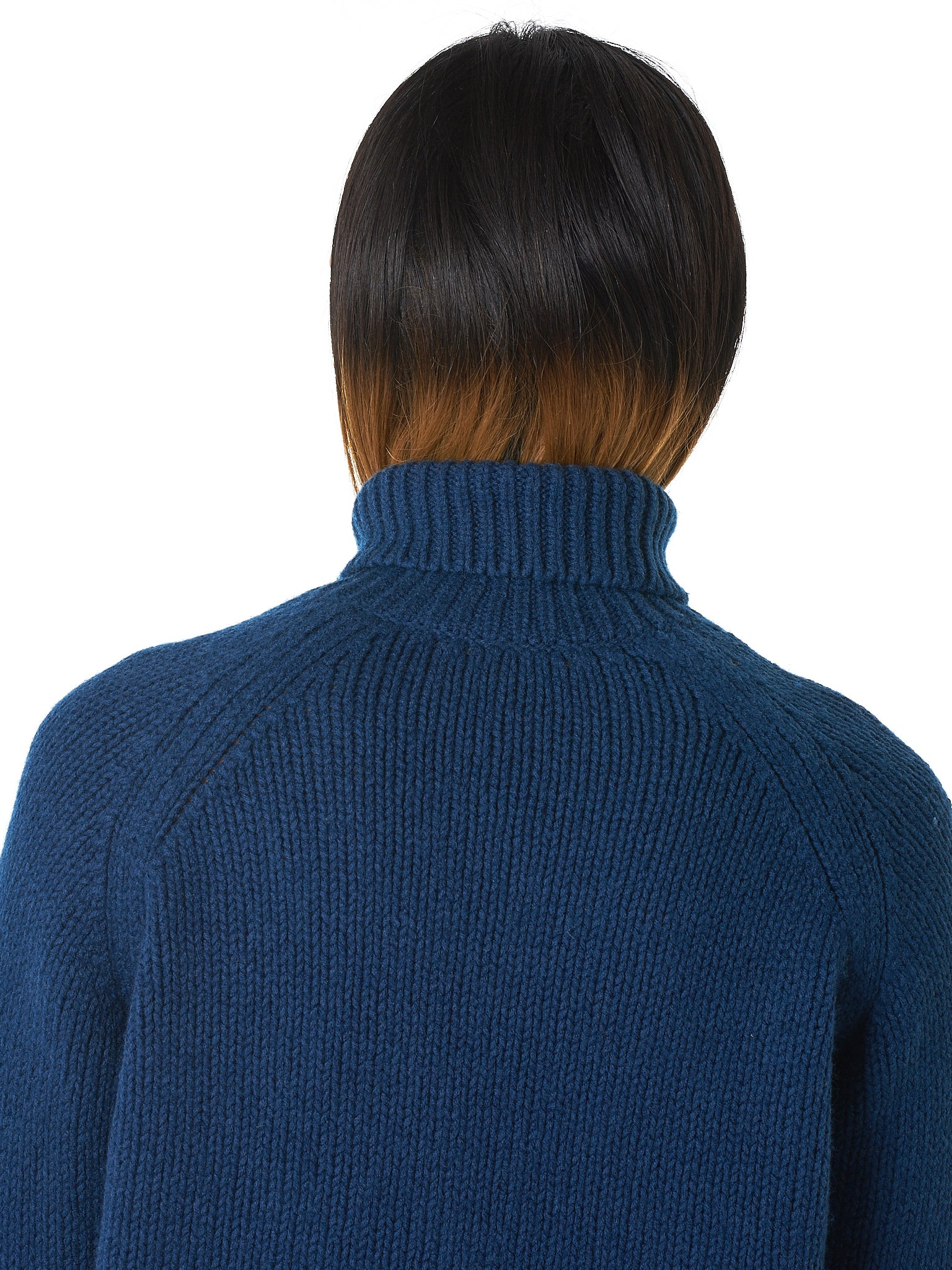 Bleu de Cocagne Turtleneck Sweater - Hlorenzo Detail 3