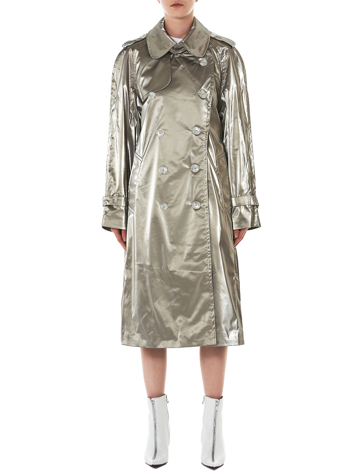 'Fantasy' Tech Trench Coat (306-SAND)