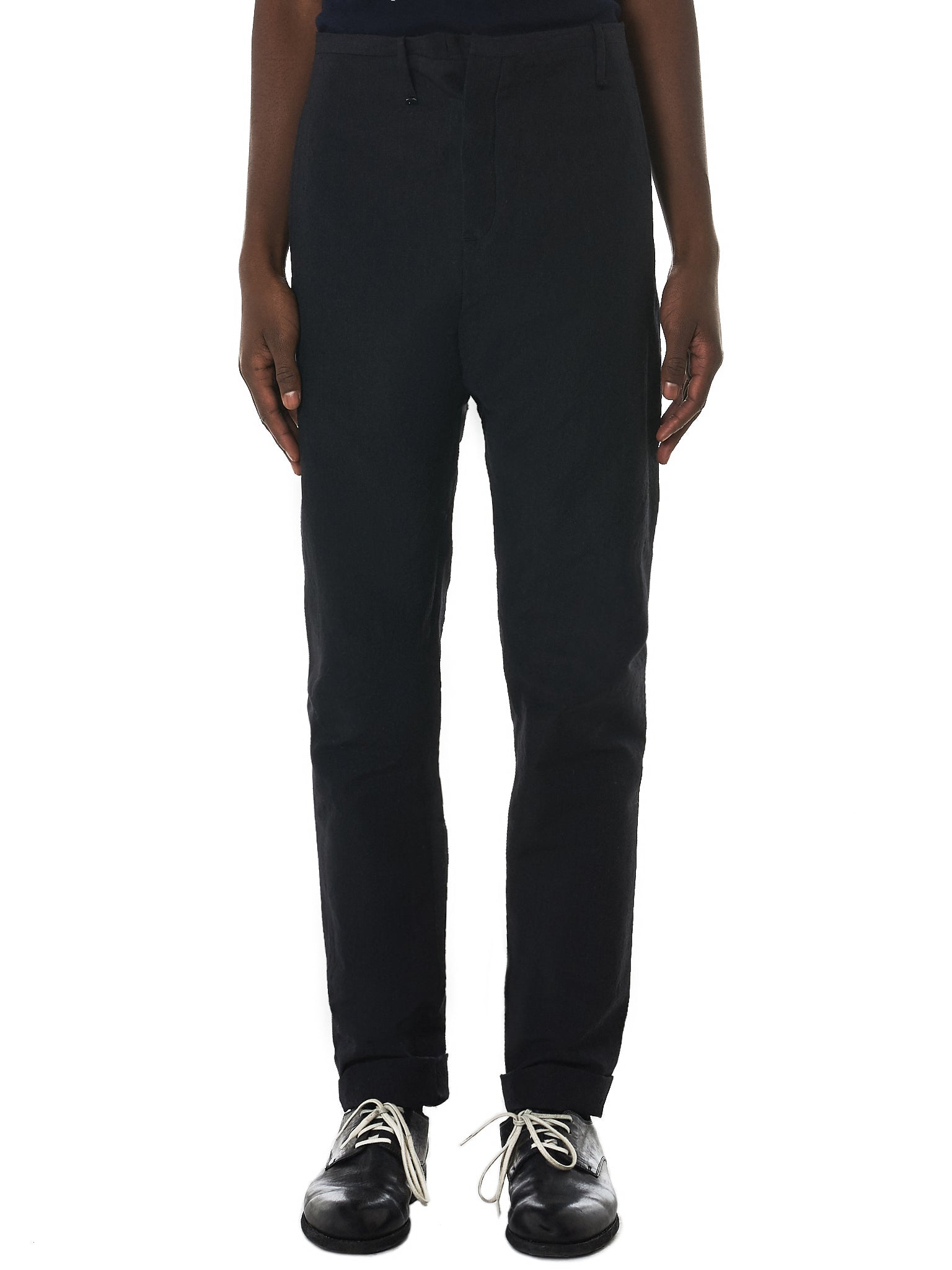 Label Under Construction Trousers - Hlorenzo Front