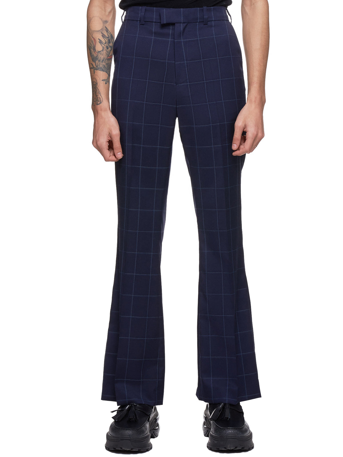 Checkered Trousers (326-BIG-NAVY-CHECK)