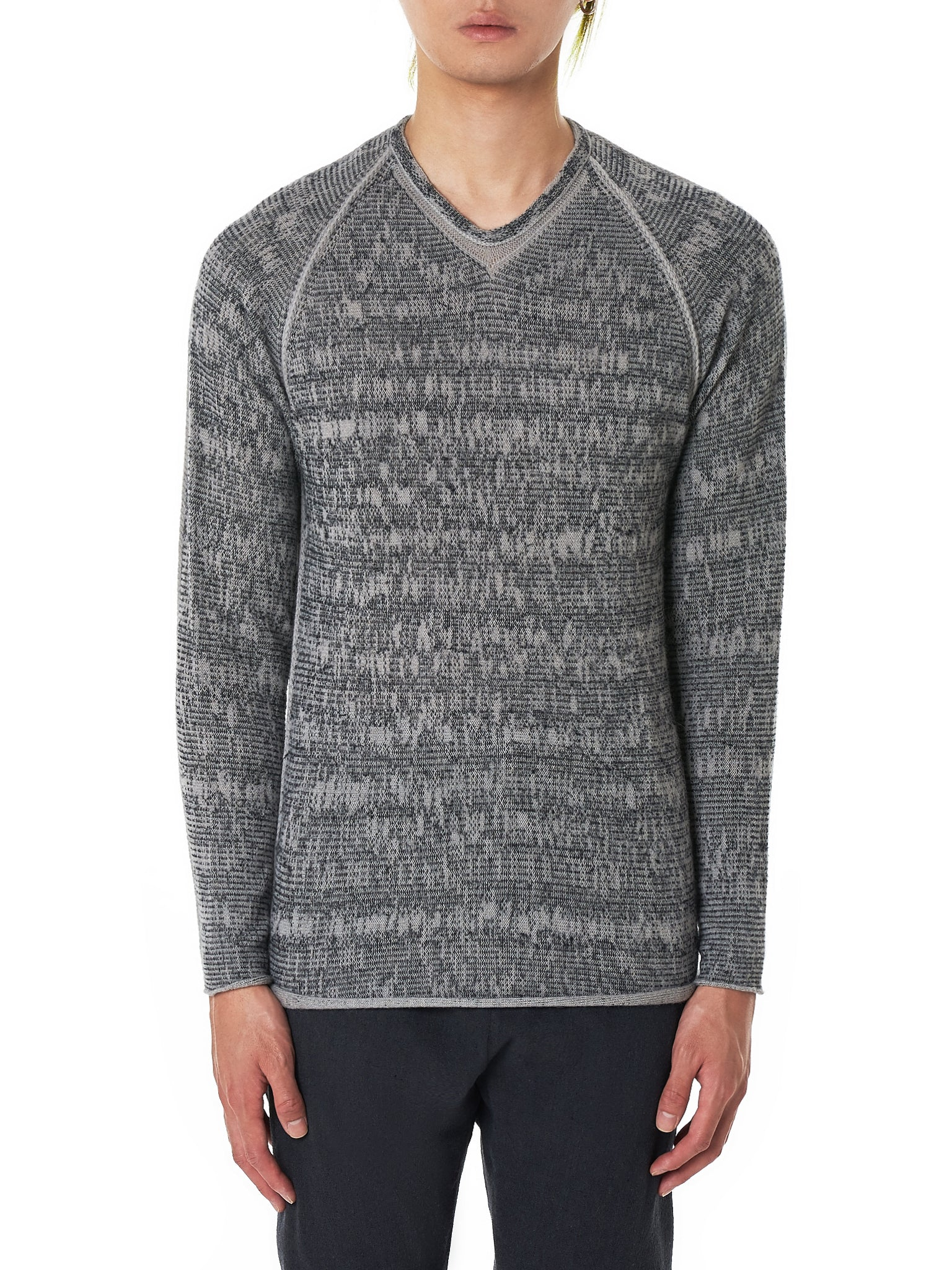 Label Under Construction Sweater - Hlorenzo Front