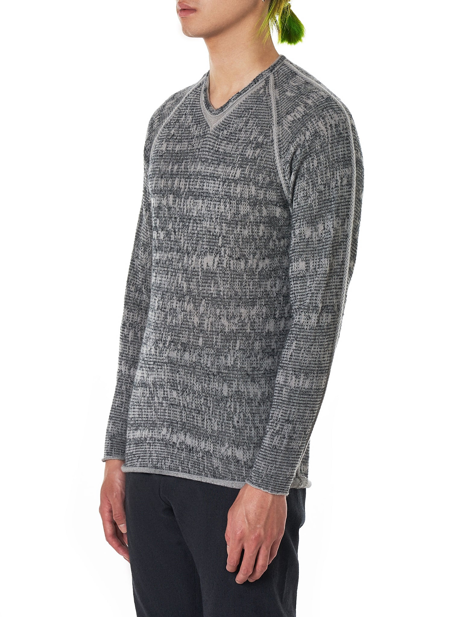 Label Under Construction Sweater - Hlorenzo Side