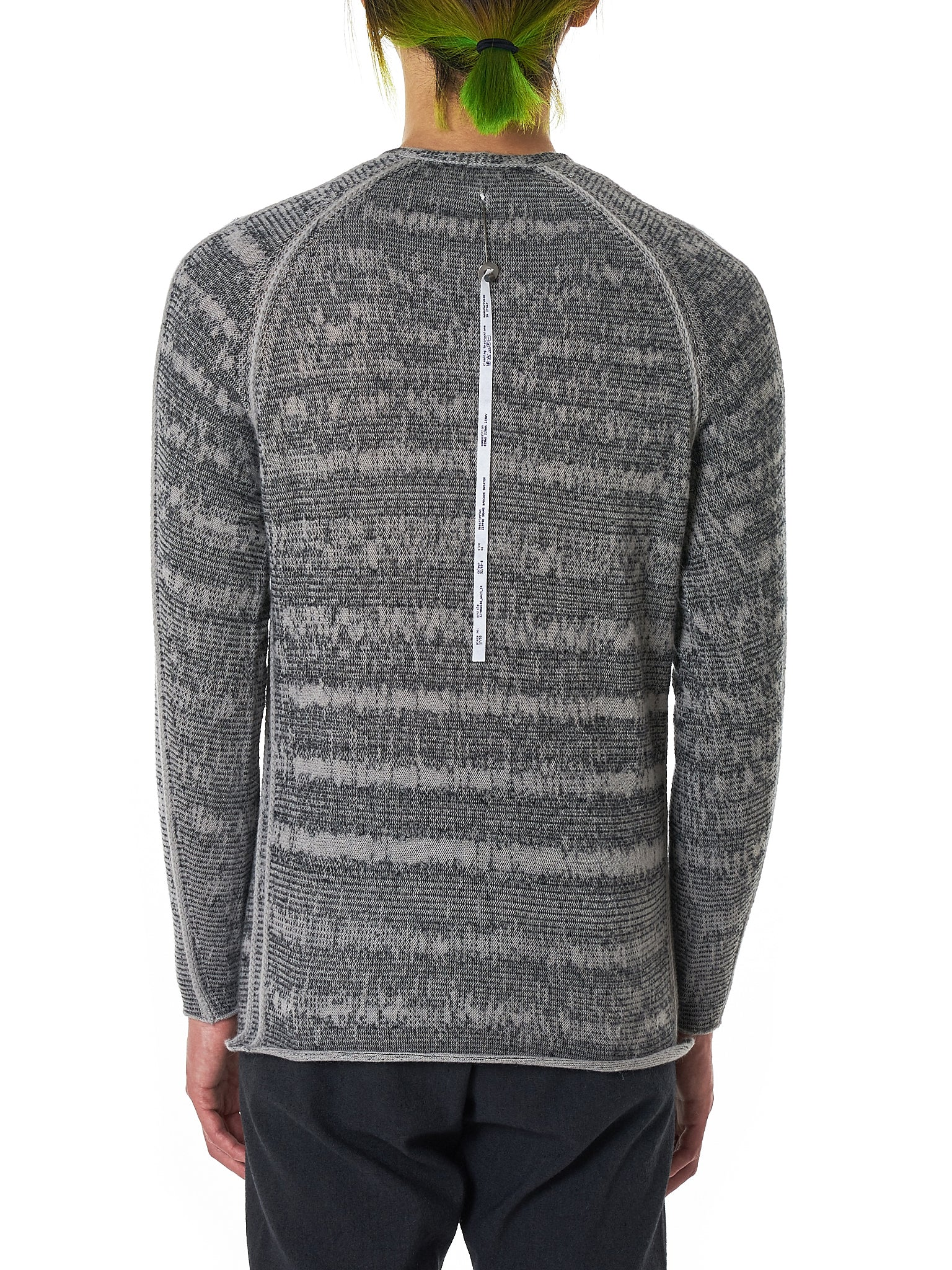 Label Under Construction Sweater - Hlorenzo Back