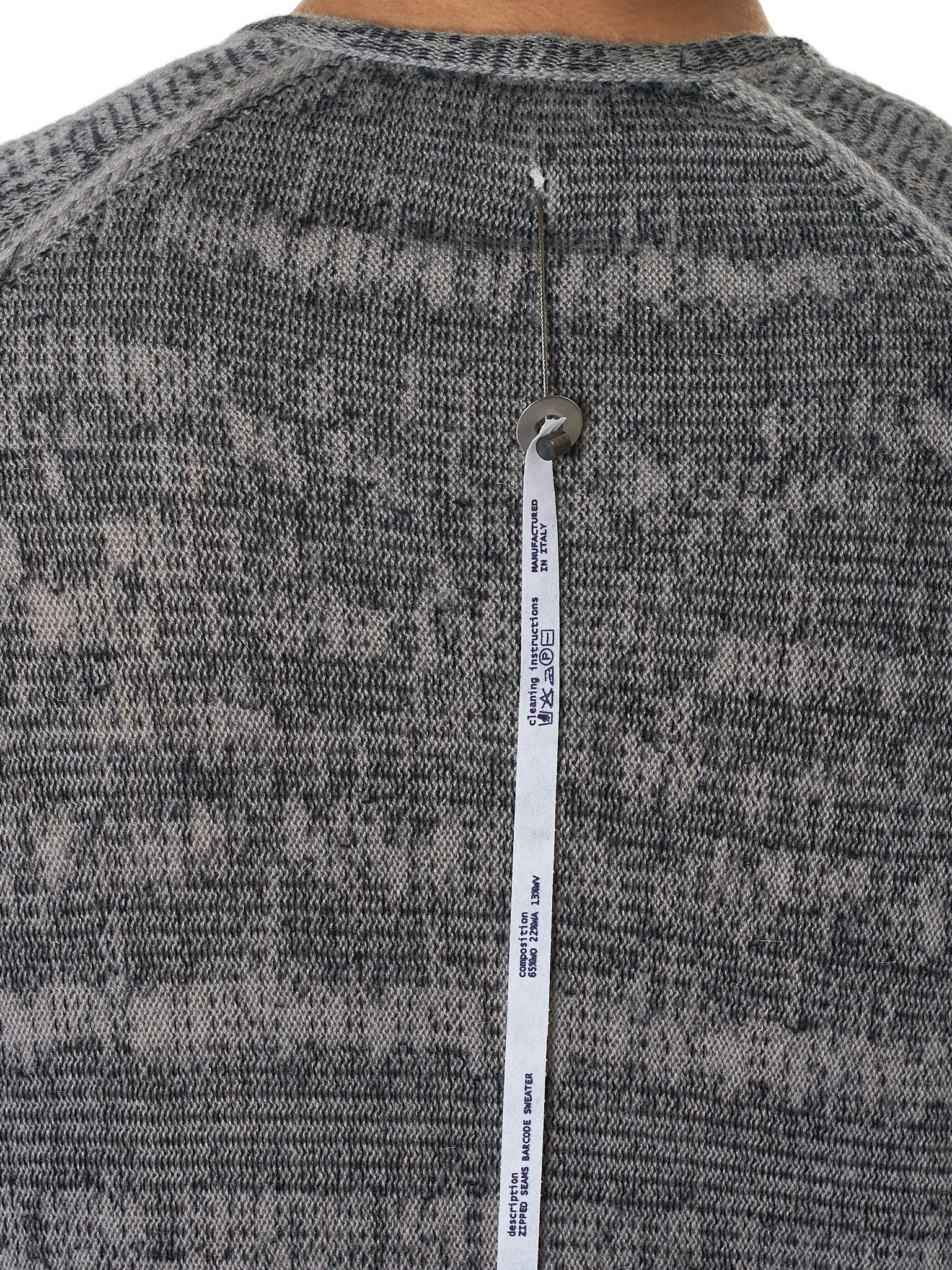 Label Under Construction Sweater - Hlorenzo Detail 2