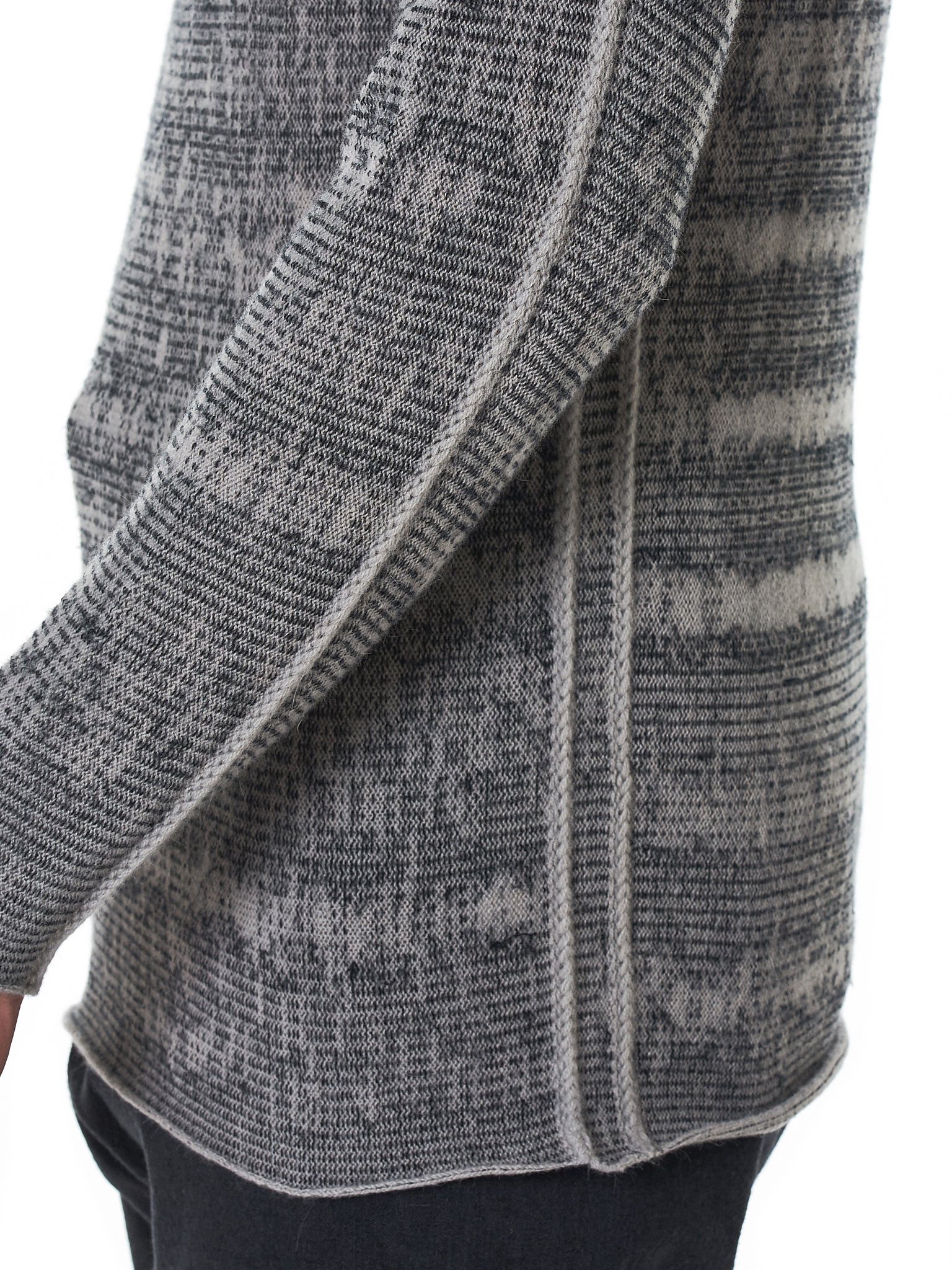 Label Under Construction Sweater - Hlorenzo Detail 1