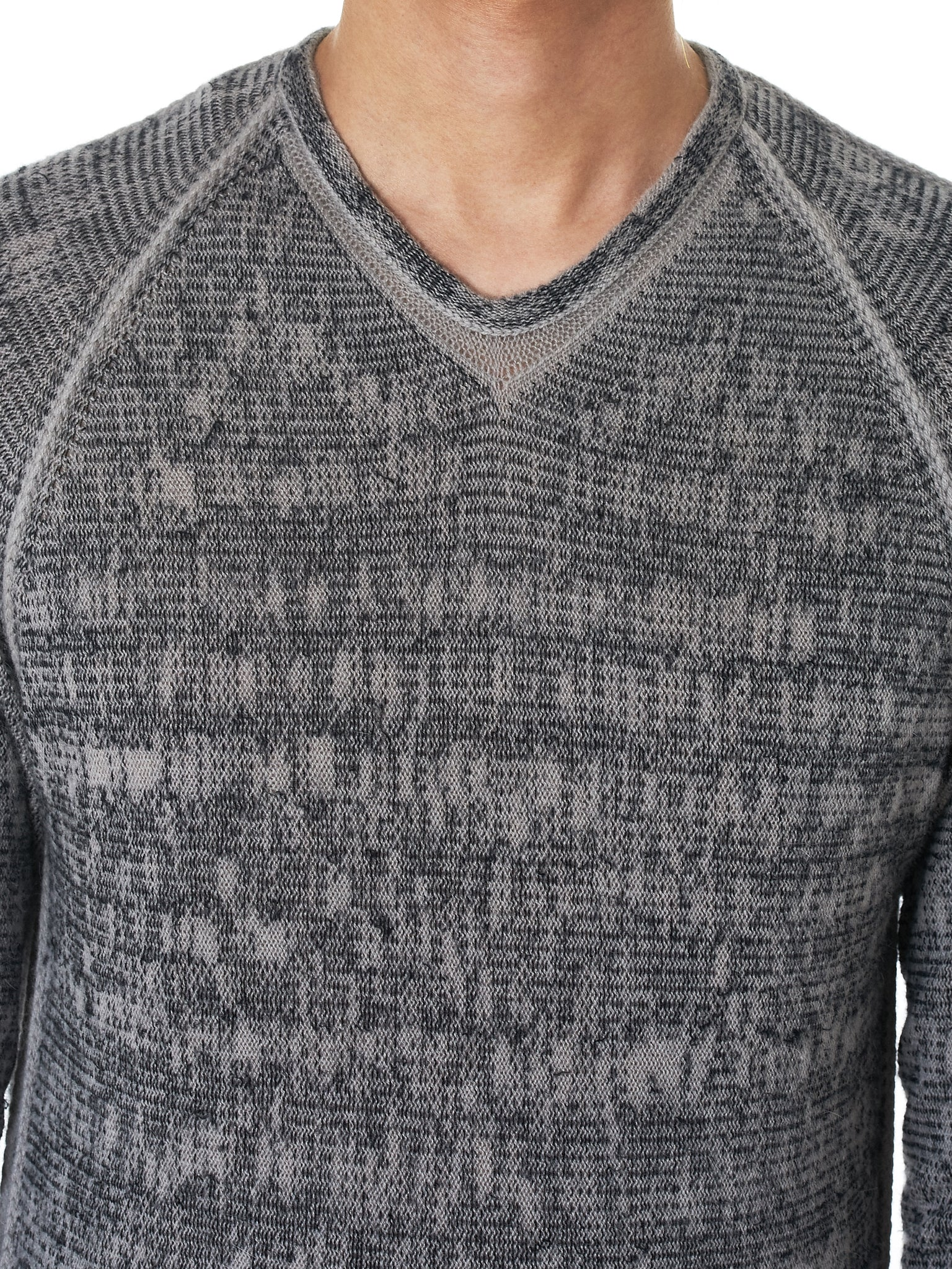 Label Under Construction Sweater - Hlorenzo Detail 3