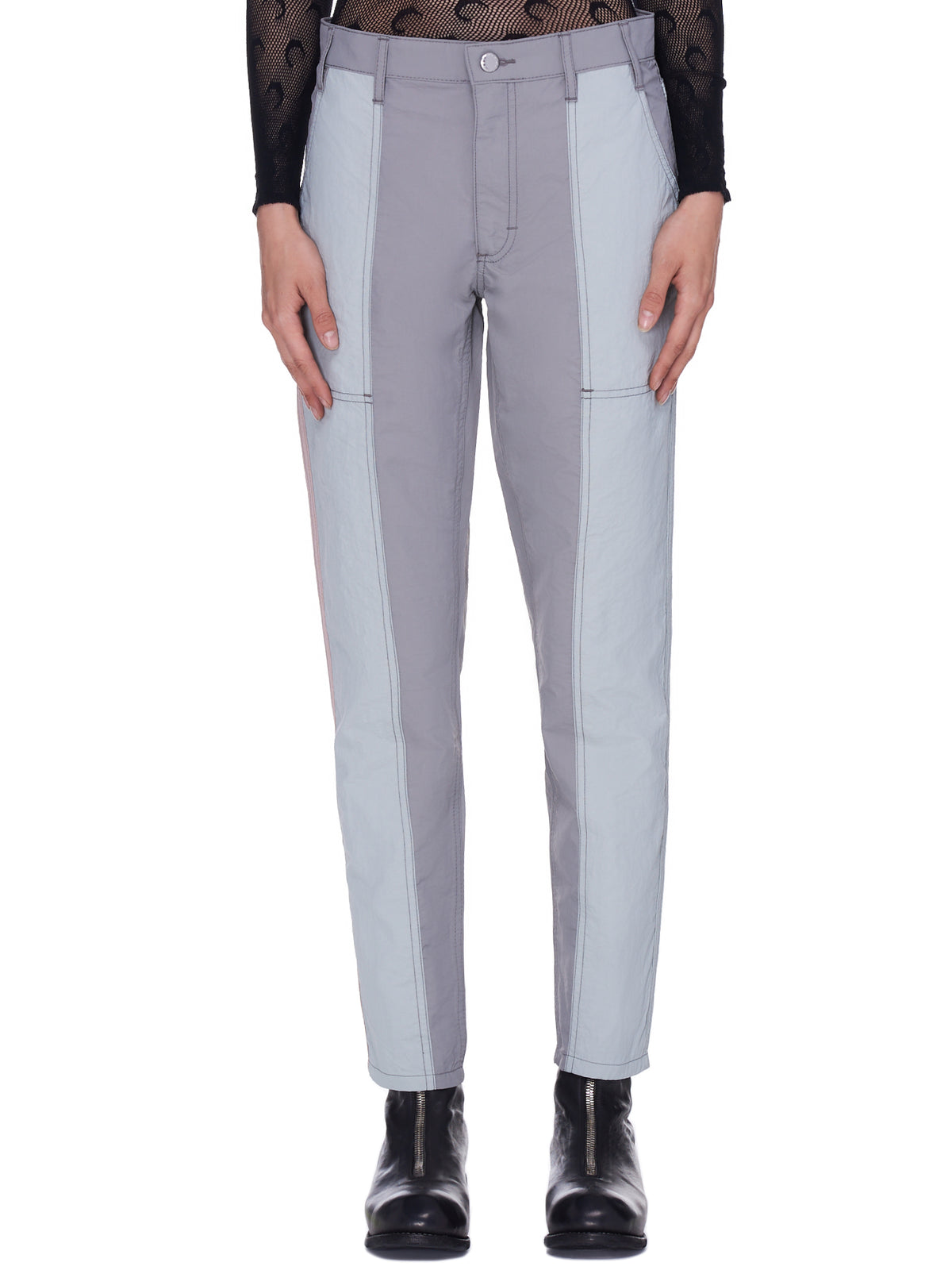 Blunt Trousers (339-EL-GREY-MULTI)