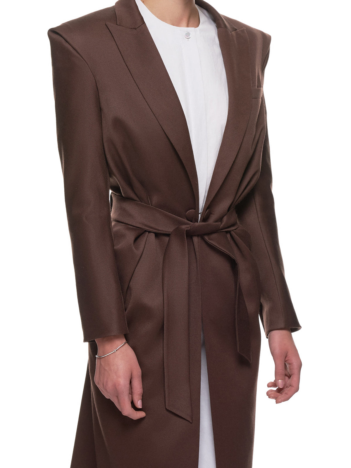 'Barocco Camisole Coat' (38-BAROCCO-BROWN)