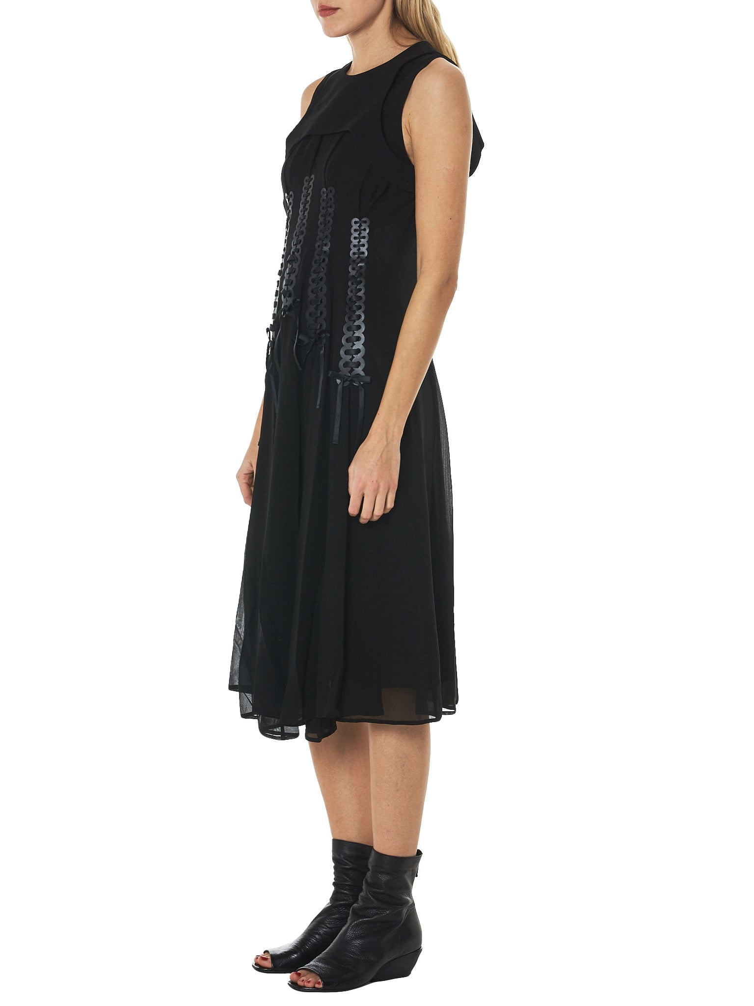 Noir by Kei Ninomiya Sleeveless Dress - Hlorenzo Side