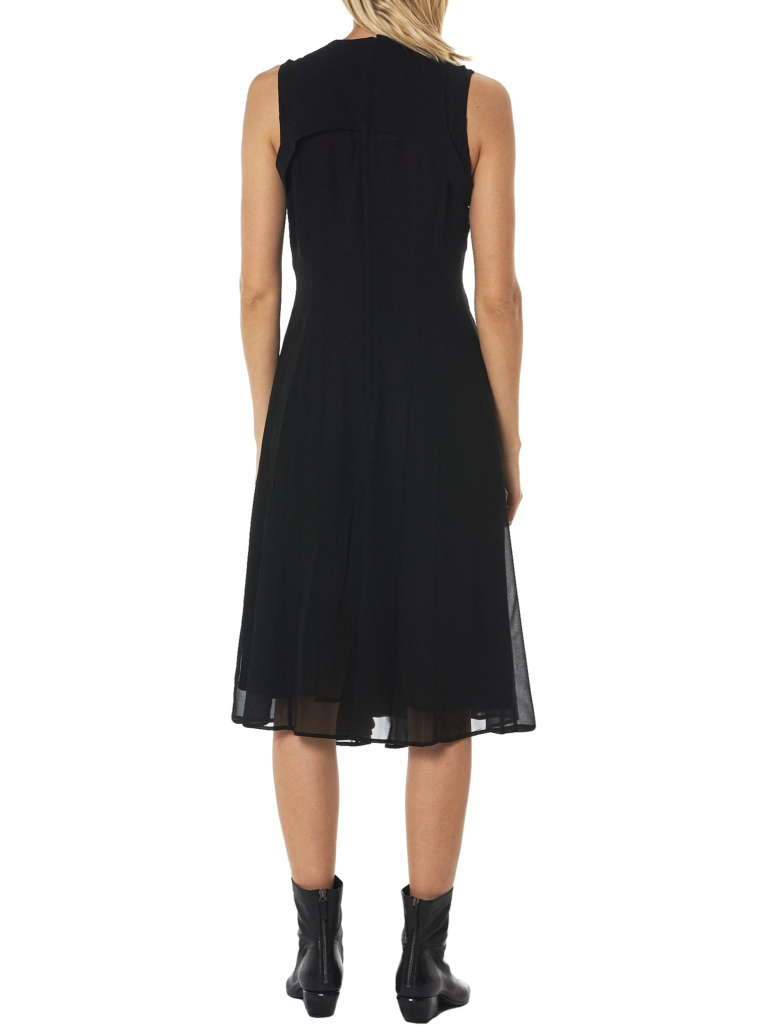 Noir by Kei Ninomiya Sleeveless Dress - Hlorenzo Back