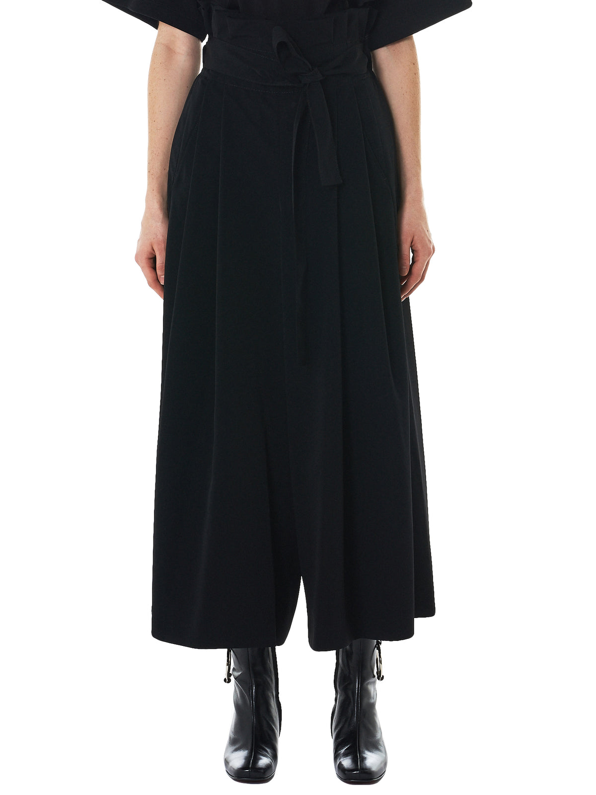 Pleated Wide Trousers (3A-P001-051-1)