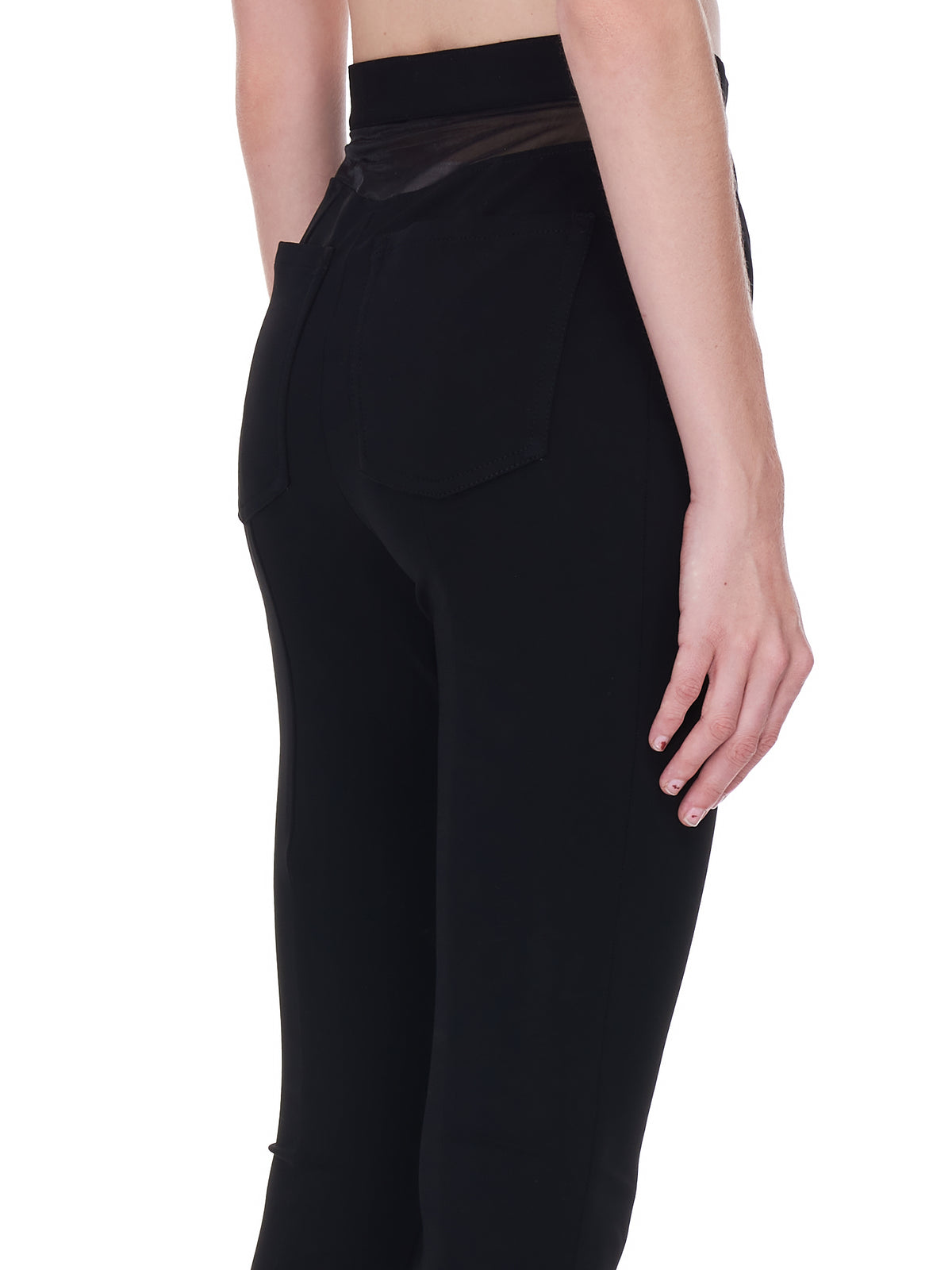 Shaped Trousers (3PA0320680-BLACK)