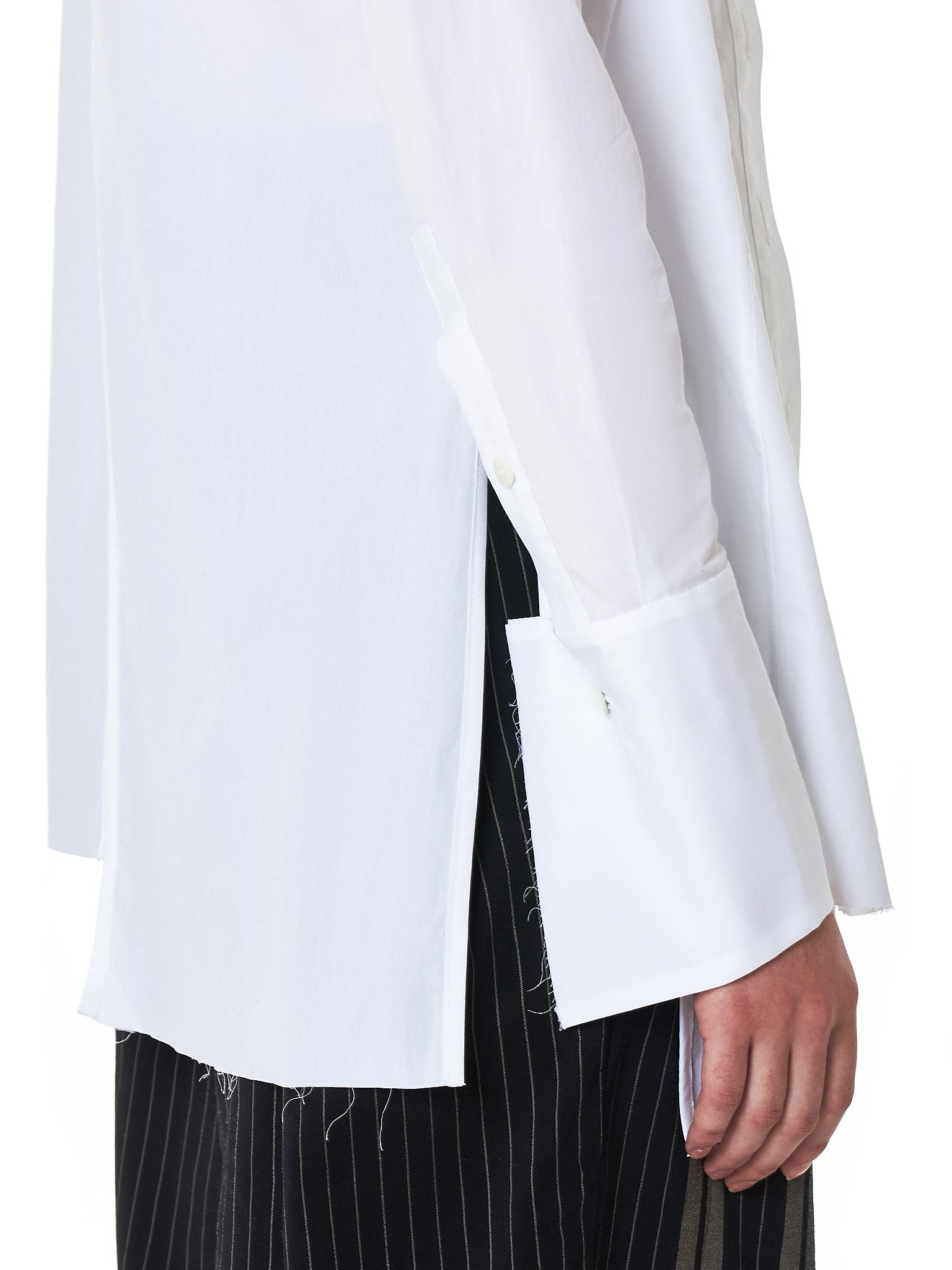Asymmetric Stole Shirt (41845-011-1010)