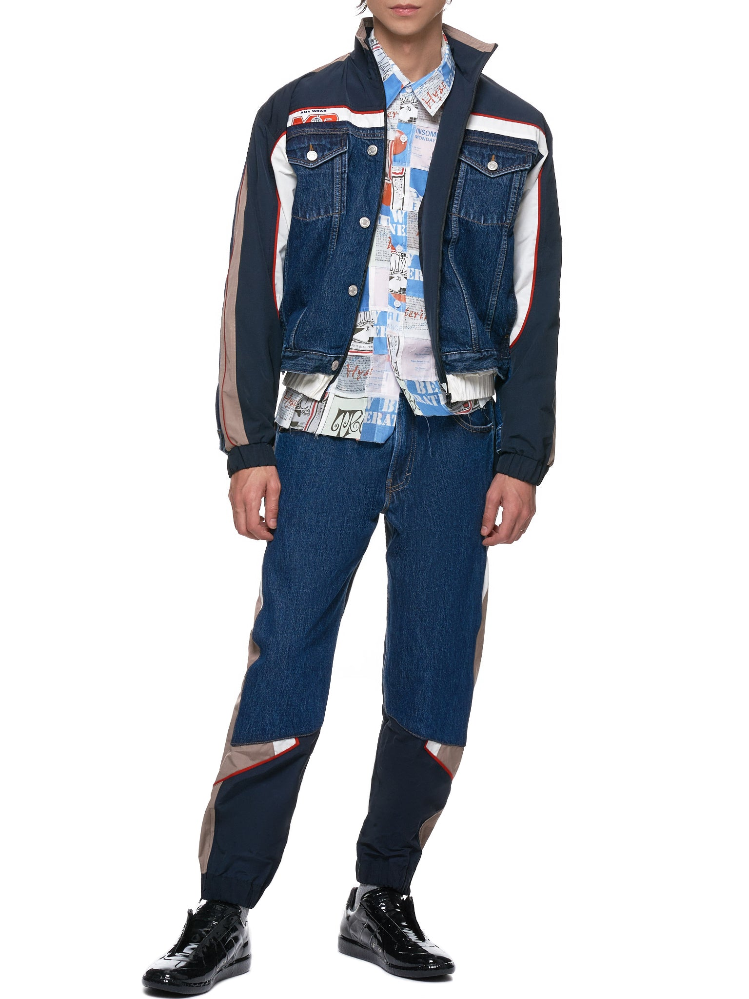 Martine Rose Denim Jacket - Hlorenzo Style