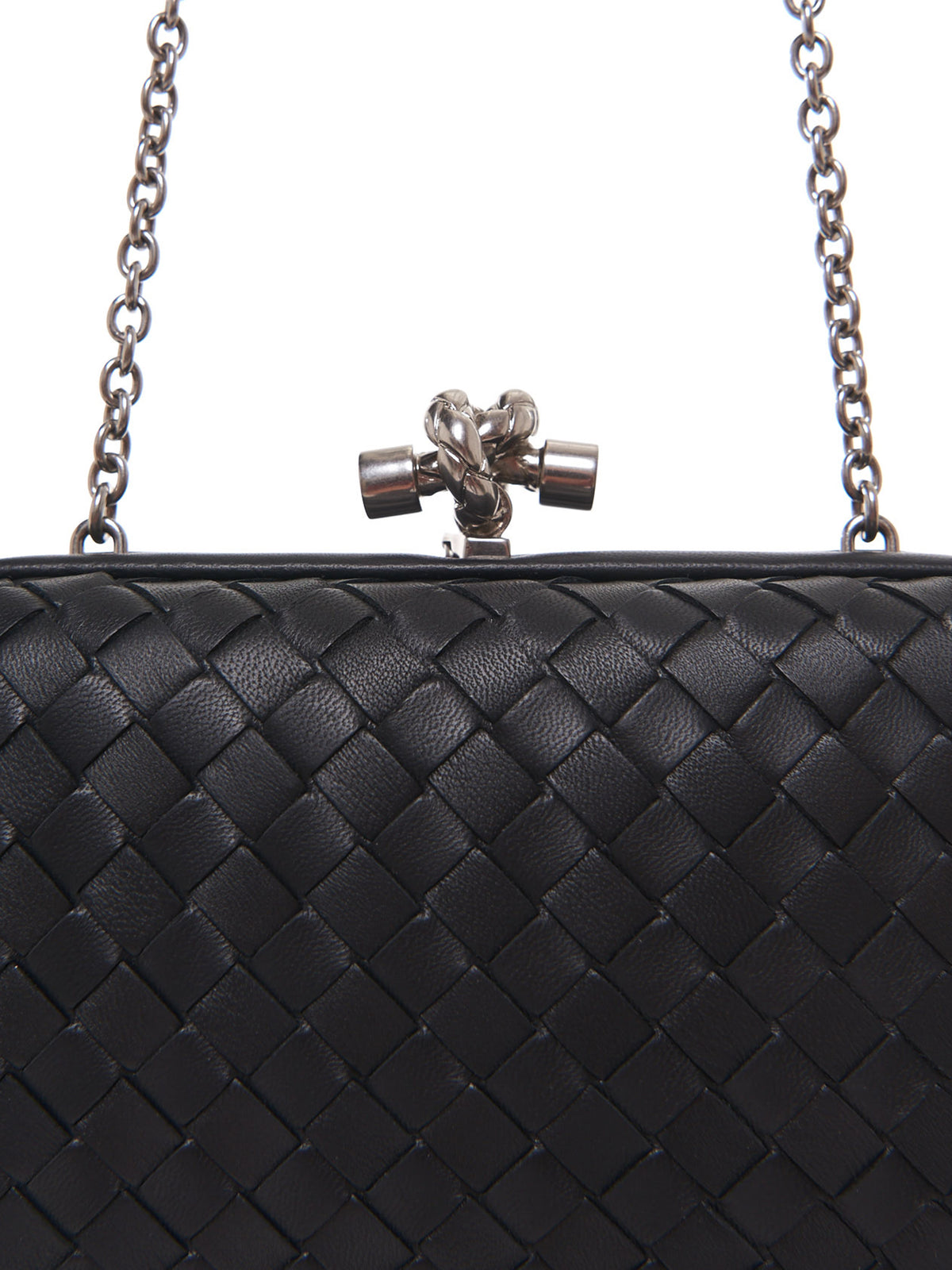 Chain Knot Bag (498478VO0BG-BLACK)