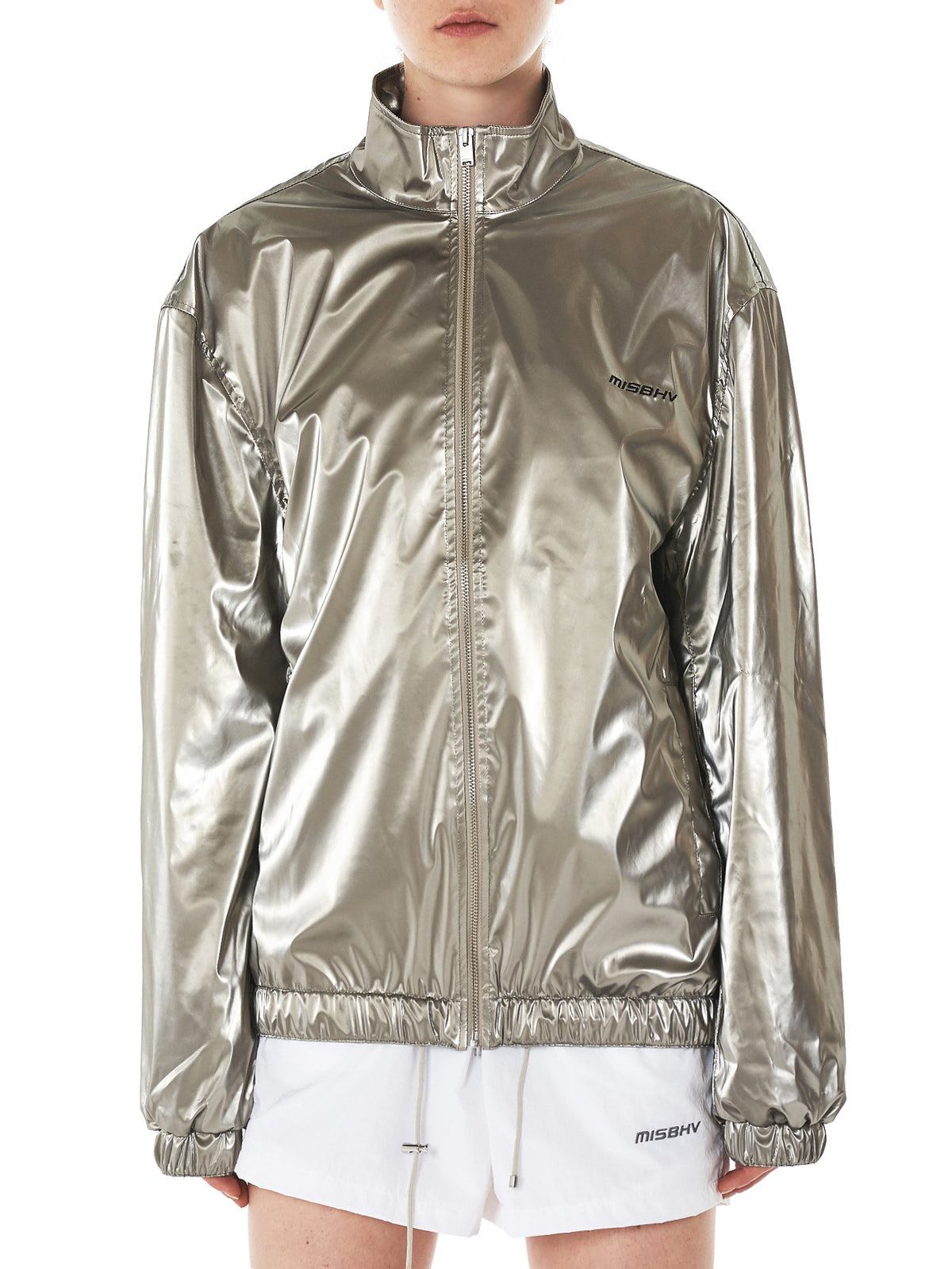 Metallic Track Jacket (513-SAND)