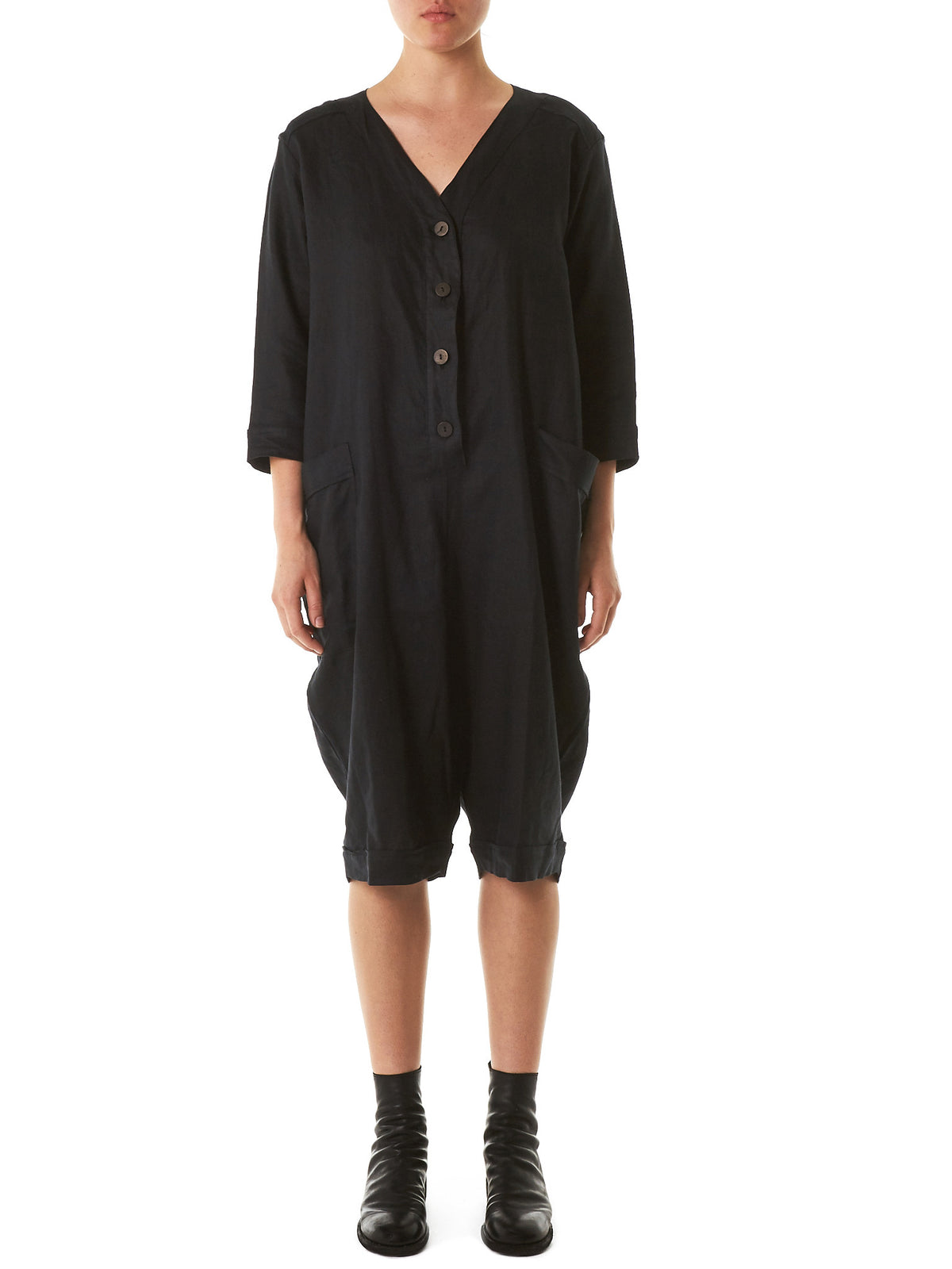 Baseball-Jumper Hybrid (513-SUMMER-COVER-UP-BLACK) - H. Lorenzo