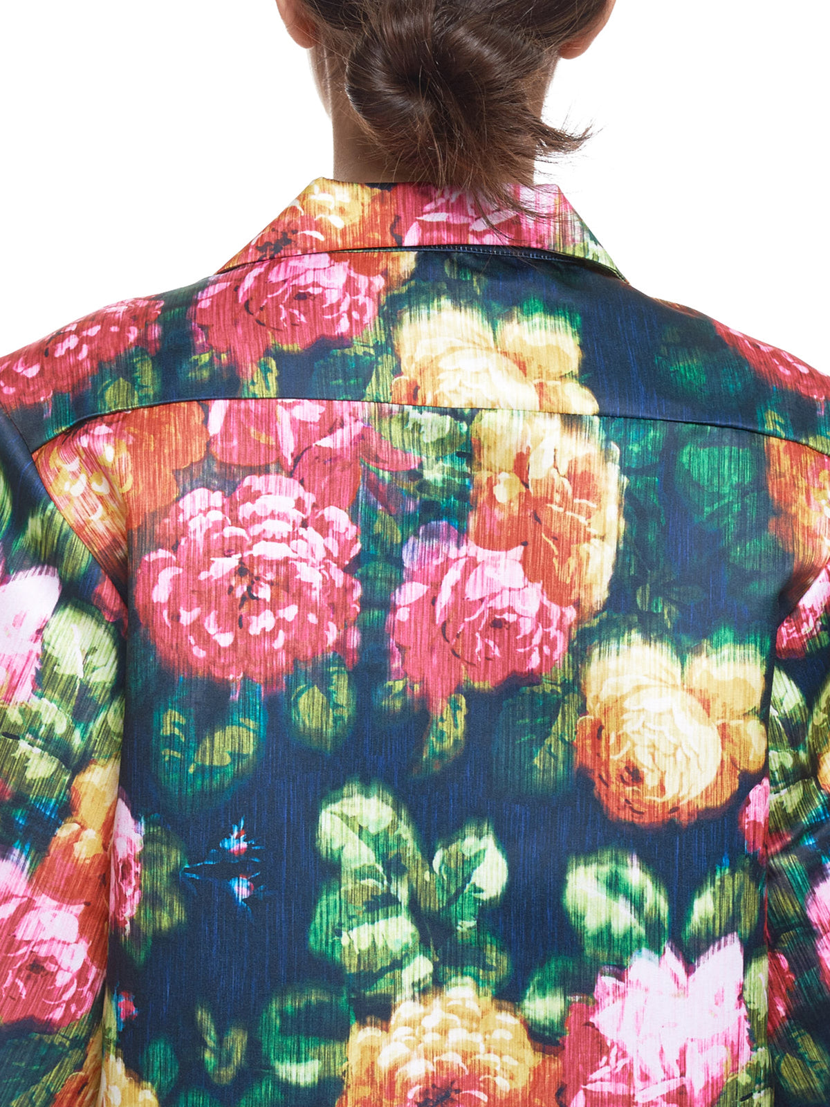 Richard Quinn Floral Shirt - Hlorenzo Detail 2