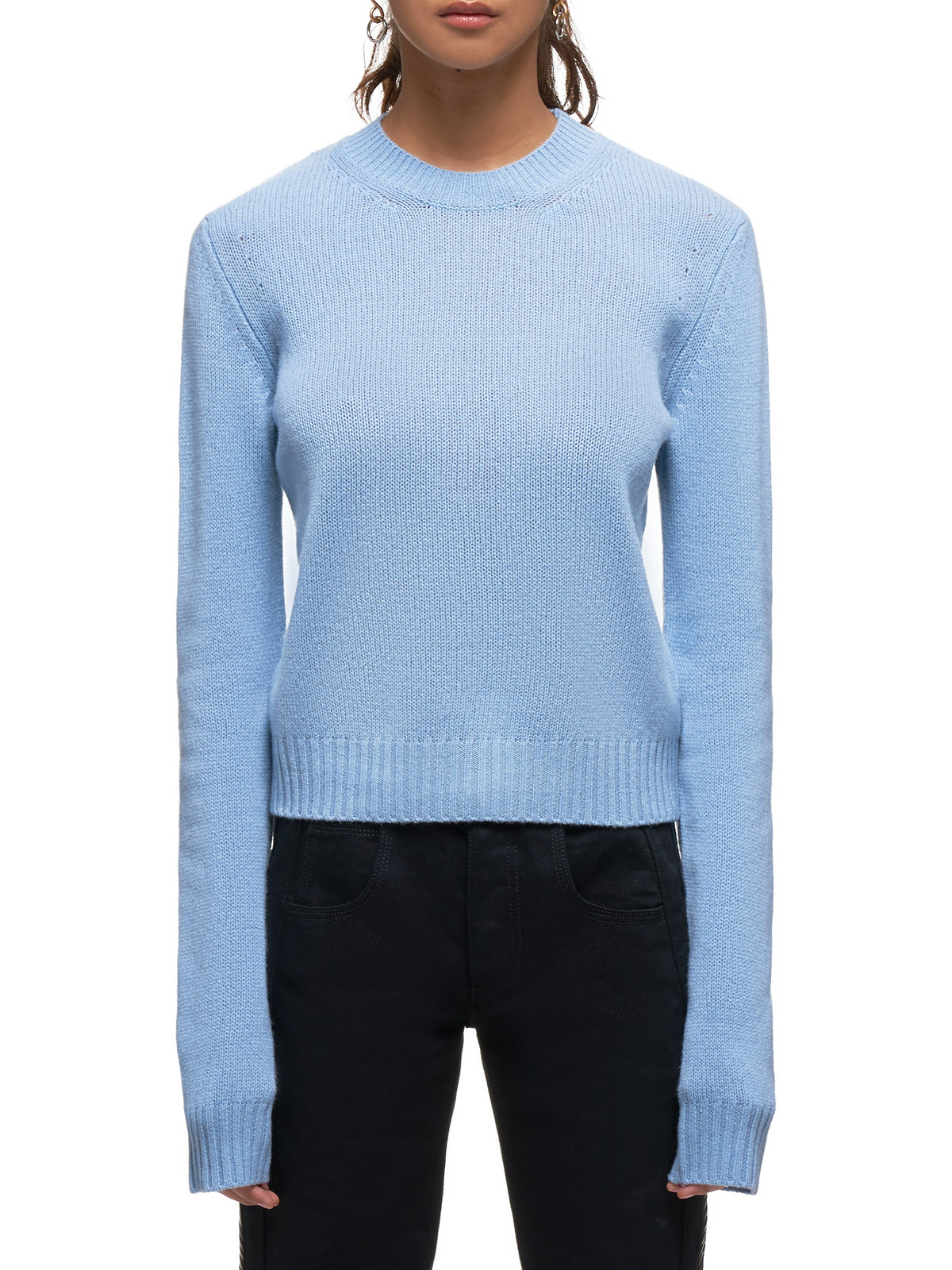 Cashmere Crewneck Sweater (571888VA7T0-1714-LIGHT-BLUE)