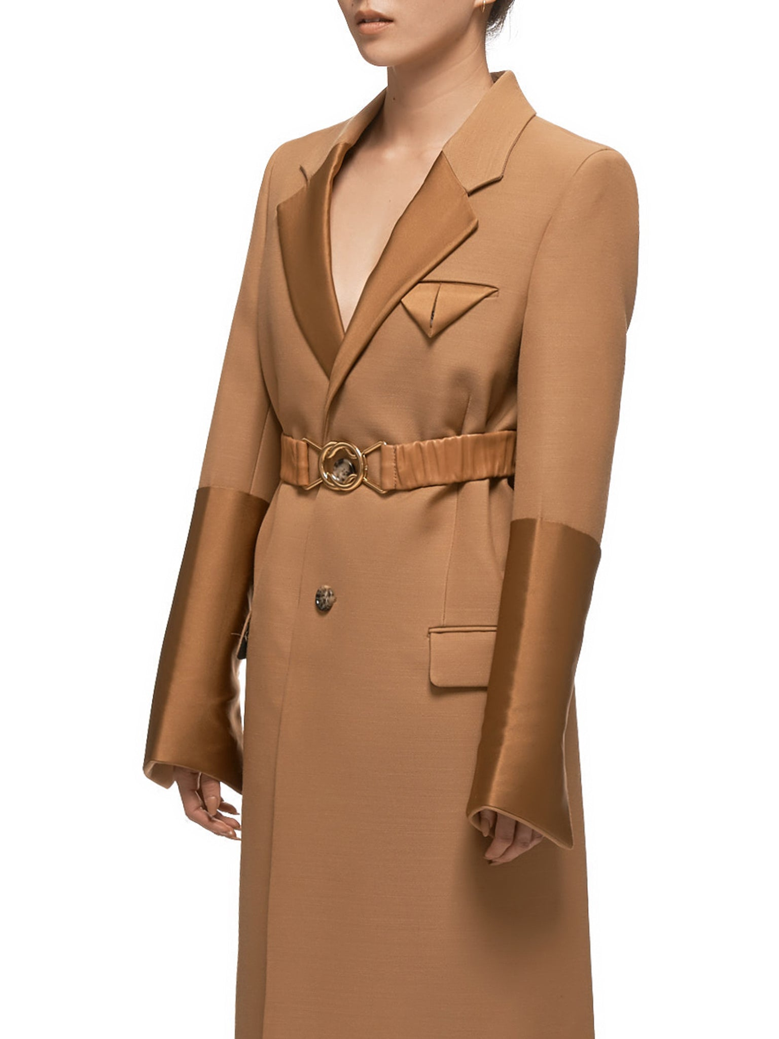 Bottega Veneta Coat - Hlorenzo Detail 1