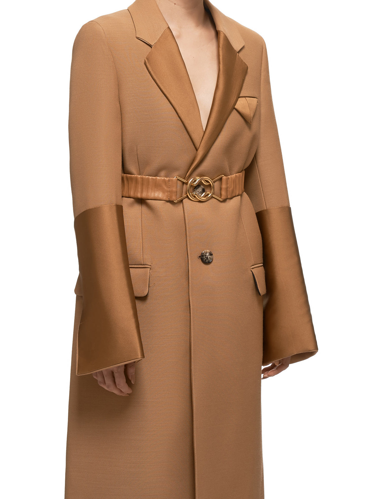 Bottega Veneta Coat - Hlorenzo Detail 2